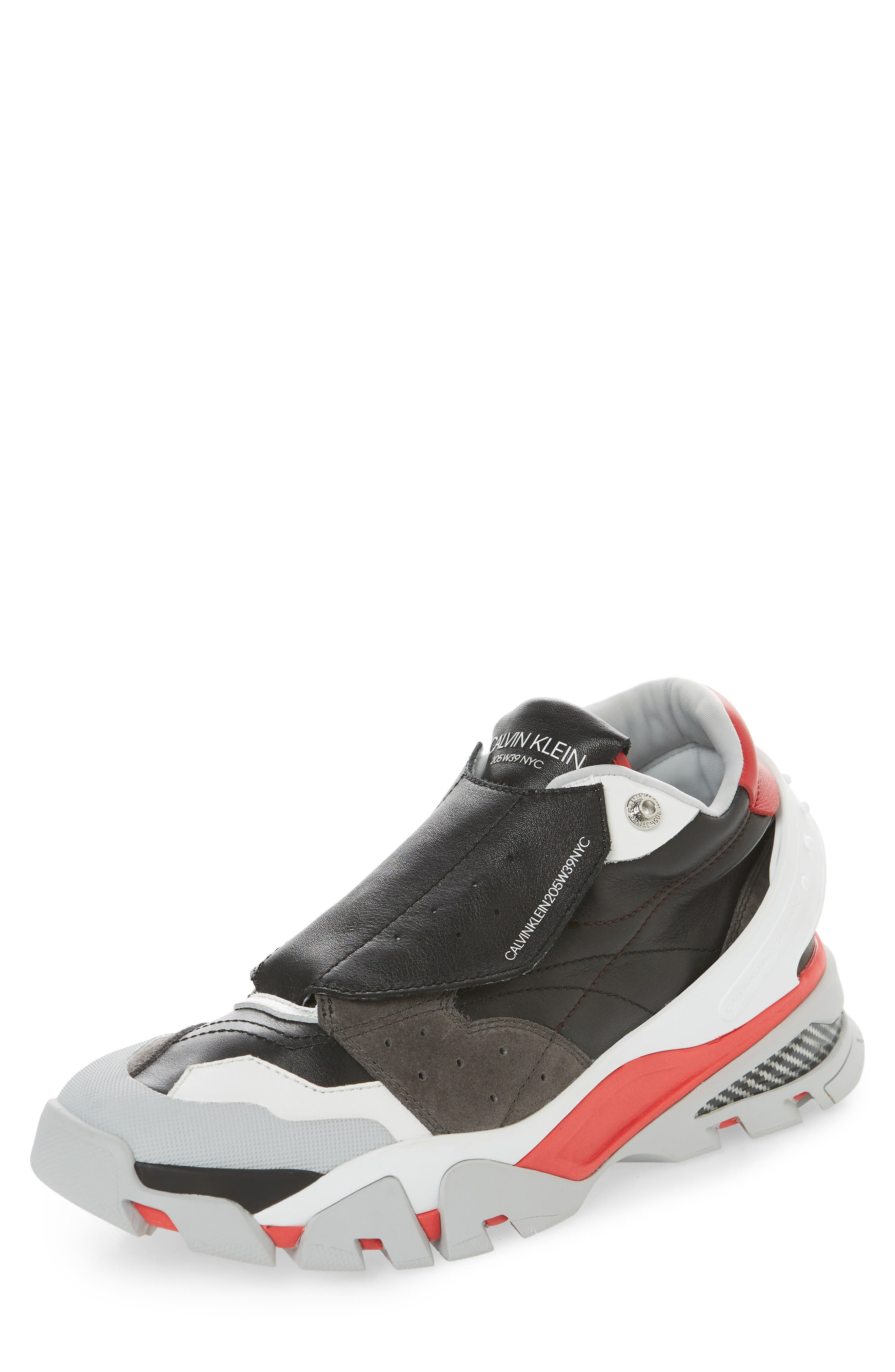 Cander 7 Sneaker,                         Main,                         color, BLACK/ WHITE/ RED/ GREY