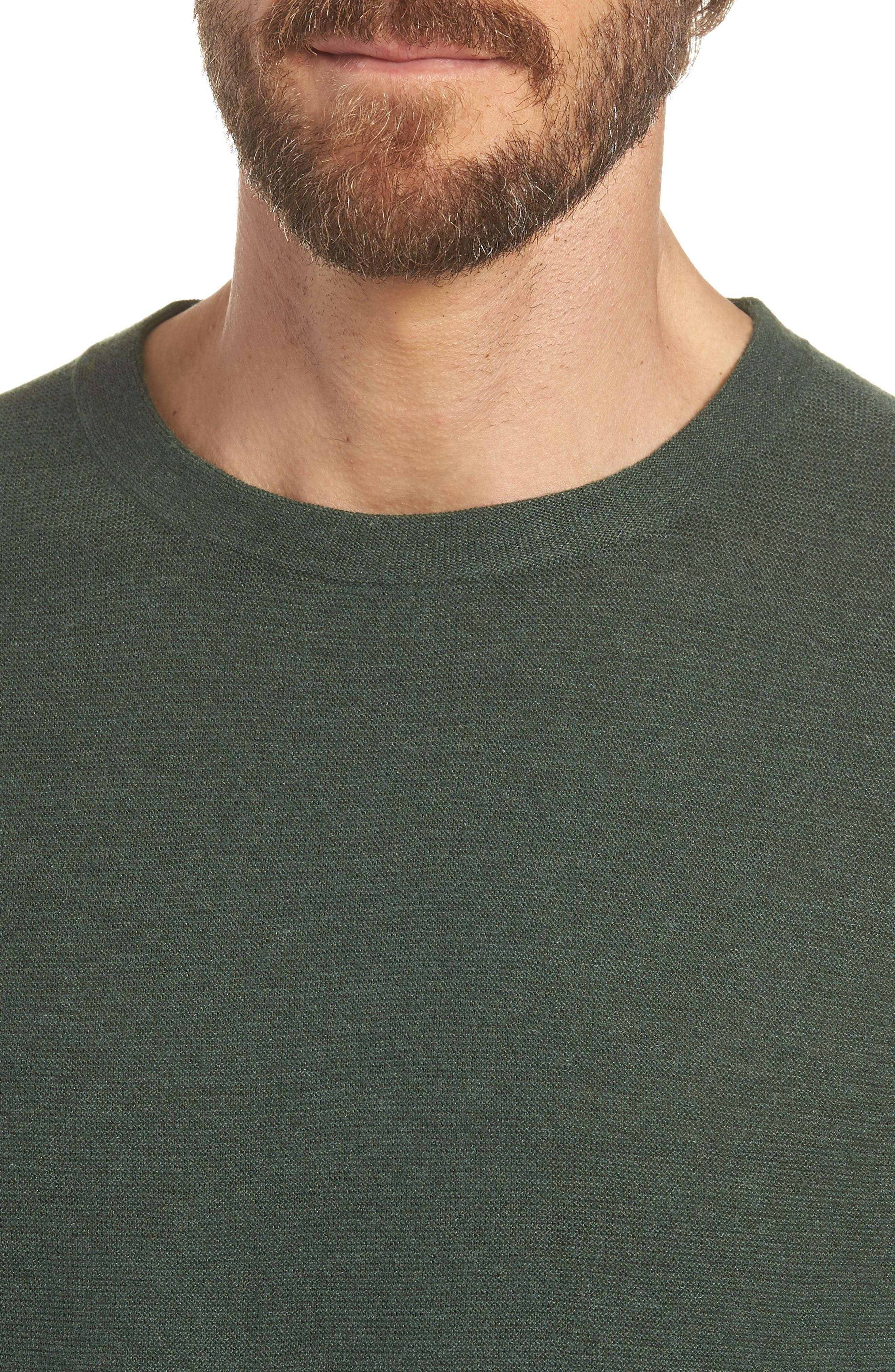 Slim Fit Crewneck Sweater,                             Alternate thumbnail 4, color,                             300