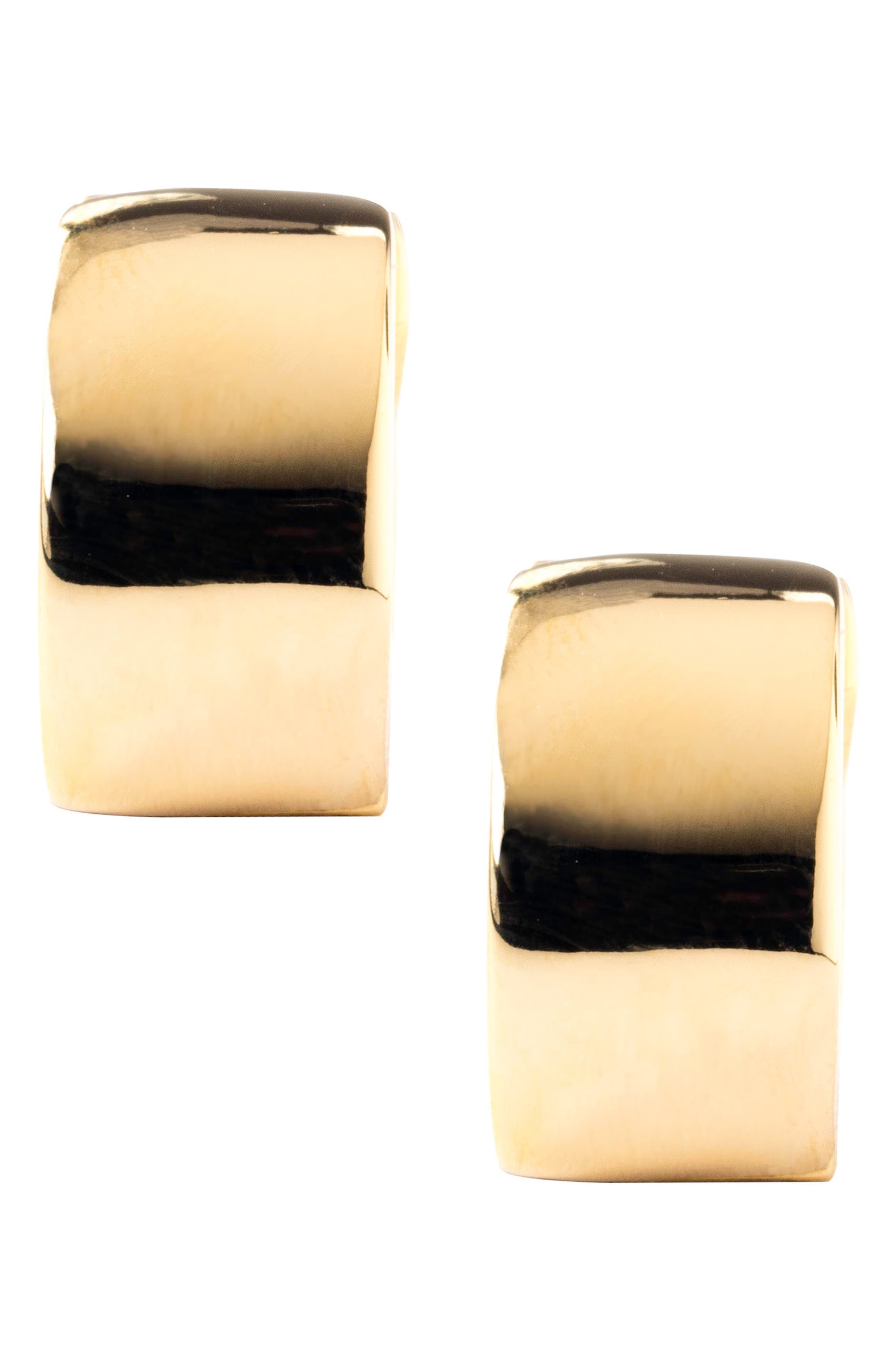 Sunflower Earrings,                             Alternate thumbnail 3, color,                             YELLOW/ GOLD