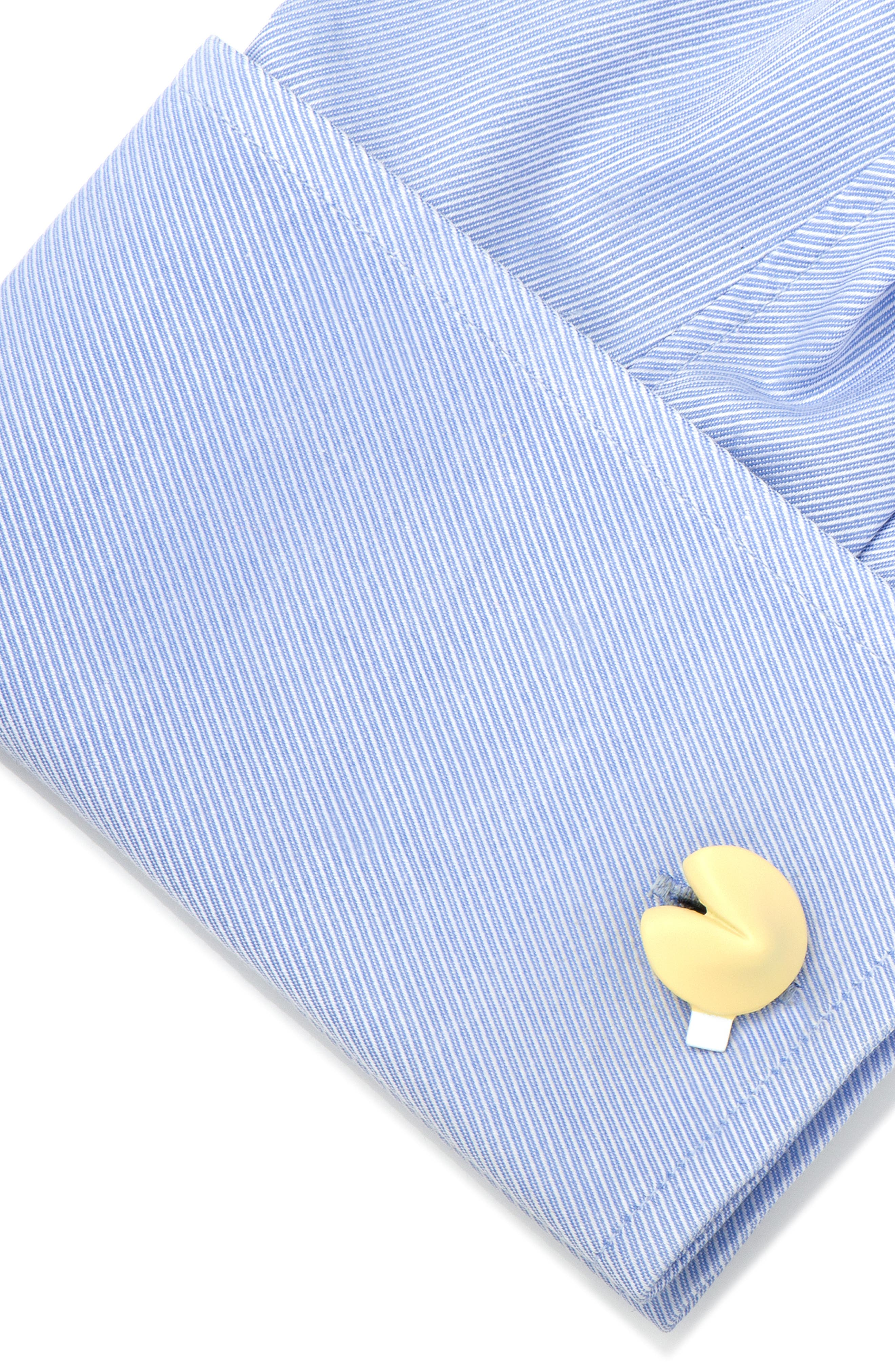 CUFFLINKS, INC.,                             Fortune Cookie Cuff Links,                             Alternate thumbnail 3, color,                             GOLD