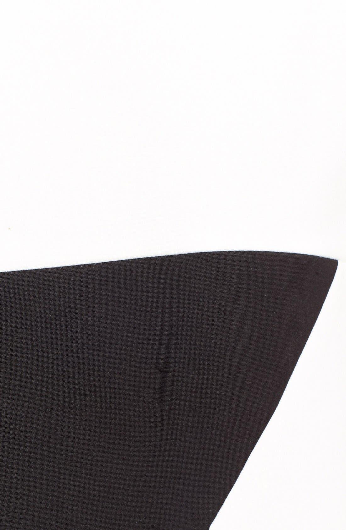 Colorblock Sheath Dress,                             Alternate thumbnail 3, color,                             006