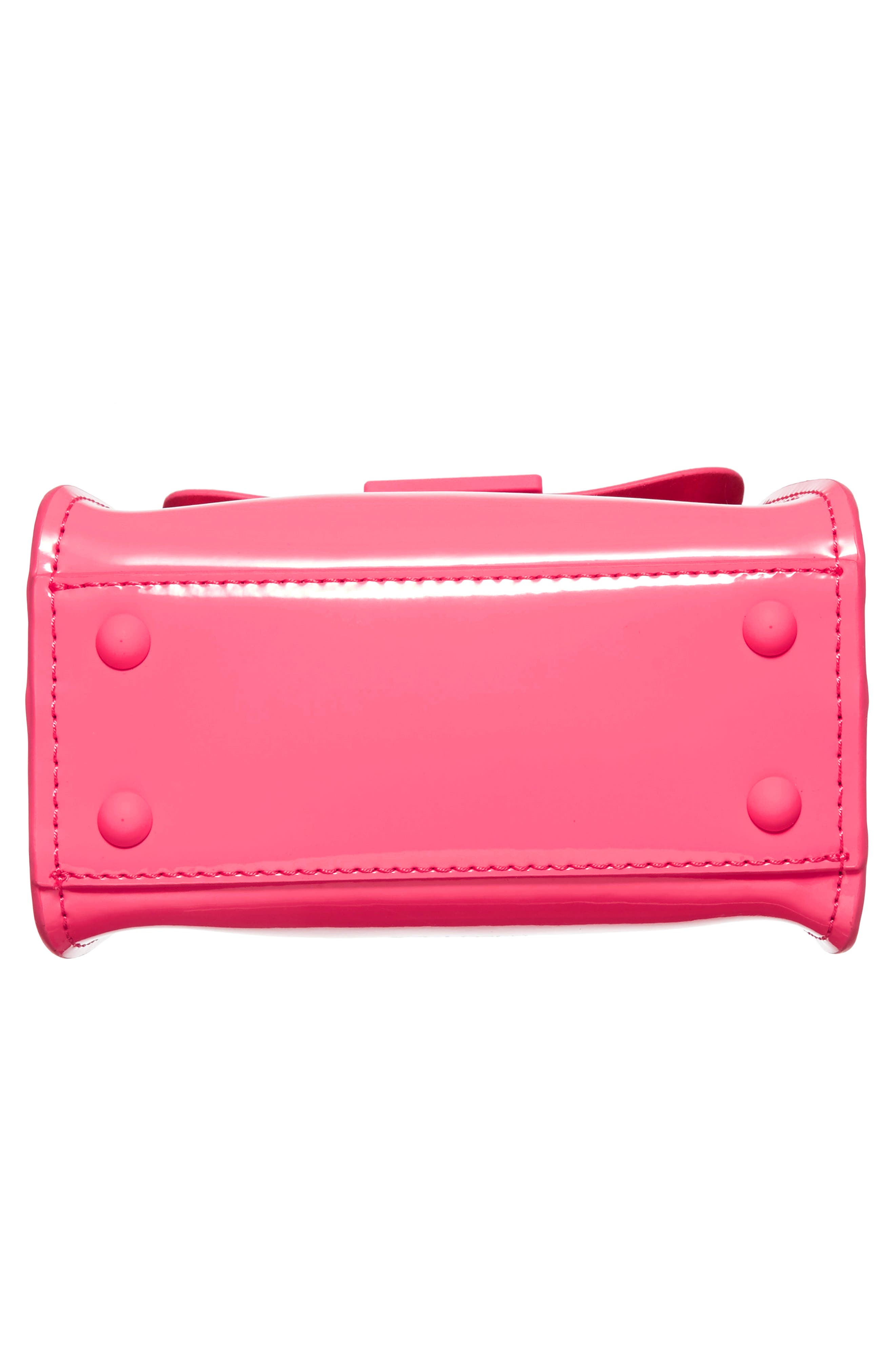 Eartha Iconic Patent Leather Mini Bag,                             Alternate thumbnail 6, color,                             650