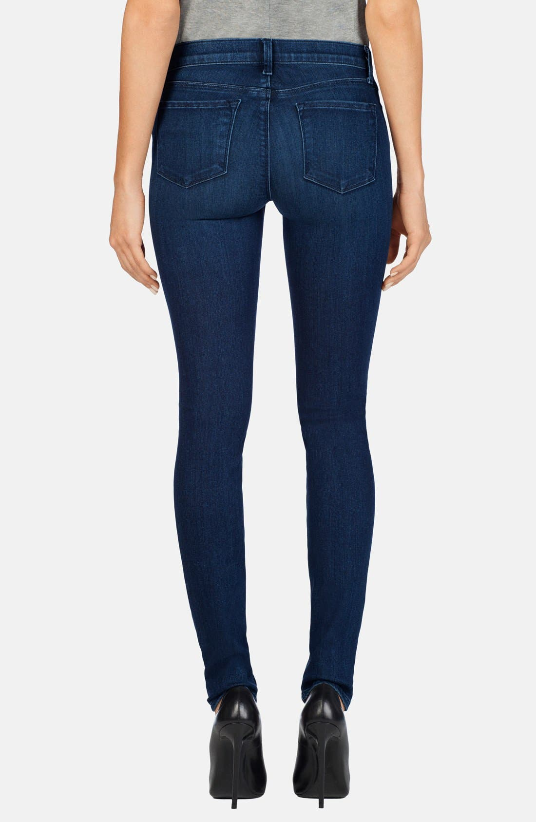 '620' Mid Rise Super Skinny Jeans,                             Alternate thumbnail 3, color,                             FIX