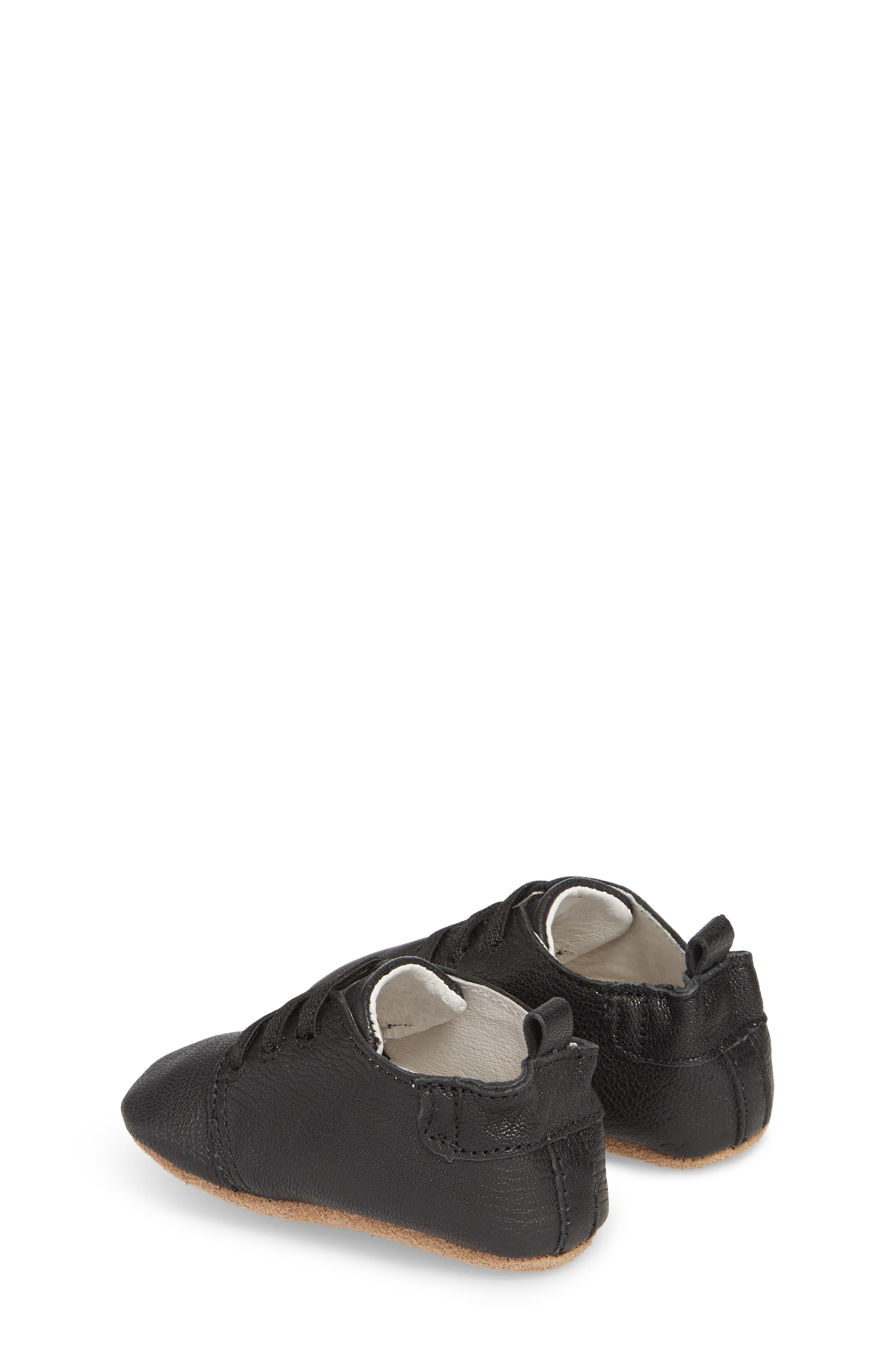 Owen Oxford Crib Shoe,                             Alternate thumbnail 2, color,                             BLACK