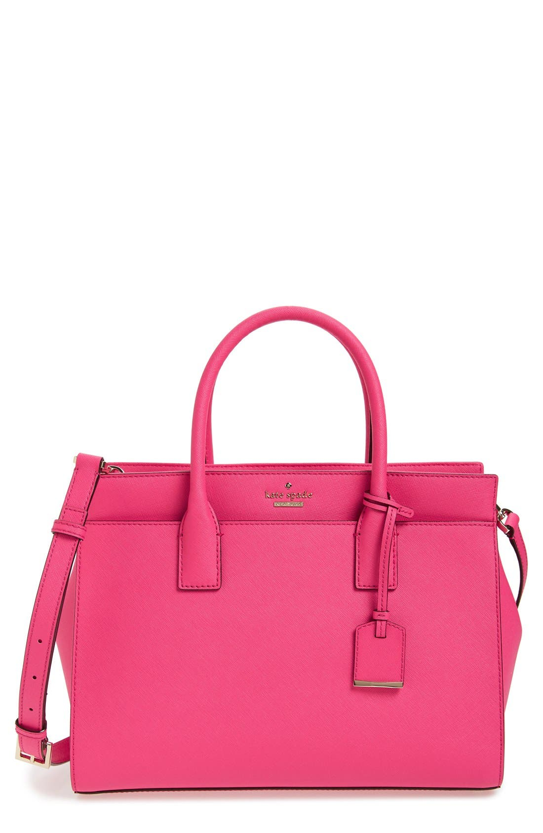 cameron street - candace leather satchel,                             Main thumbnail 22, color,