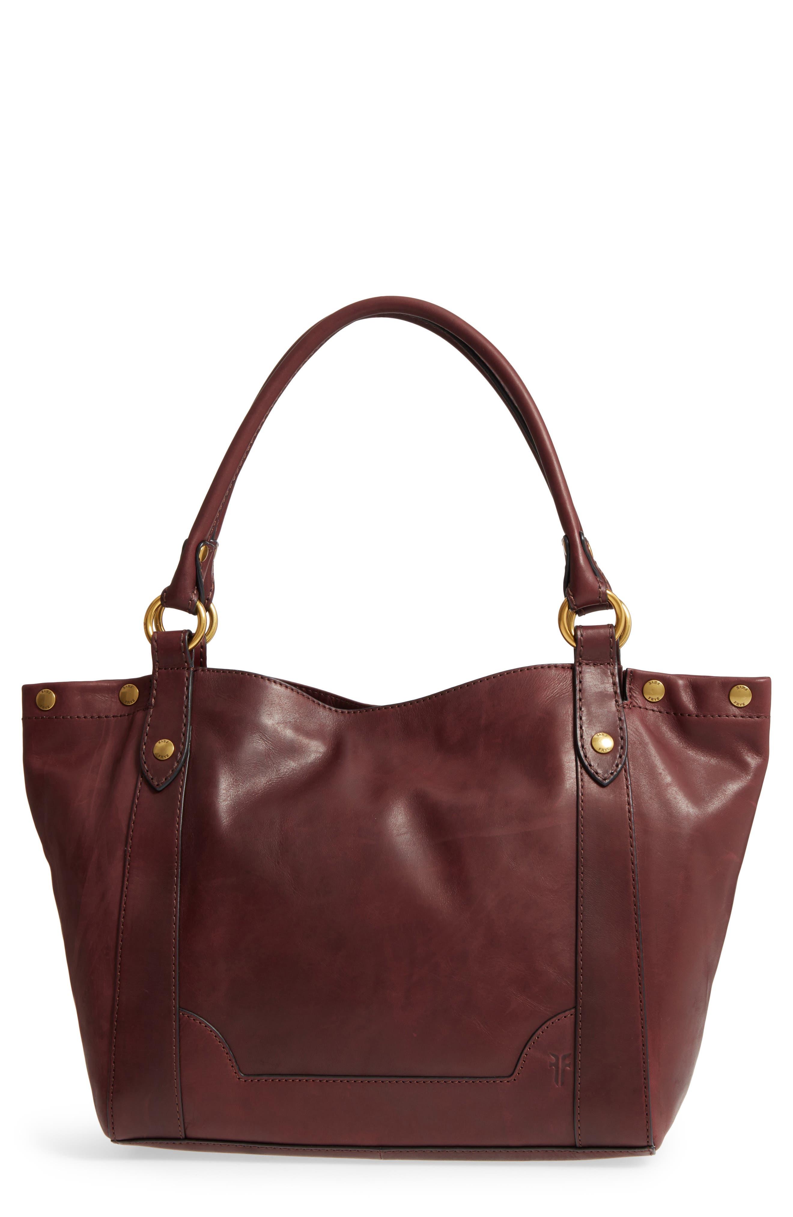 Melissa Leather Shoulder Bag,                             Main thumbnail 3, color,