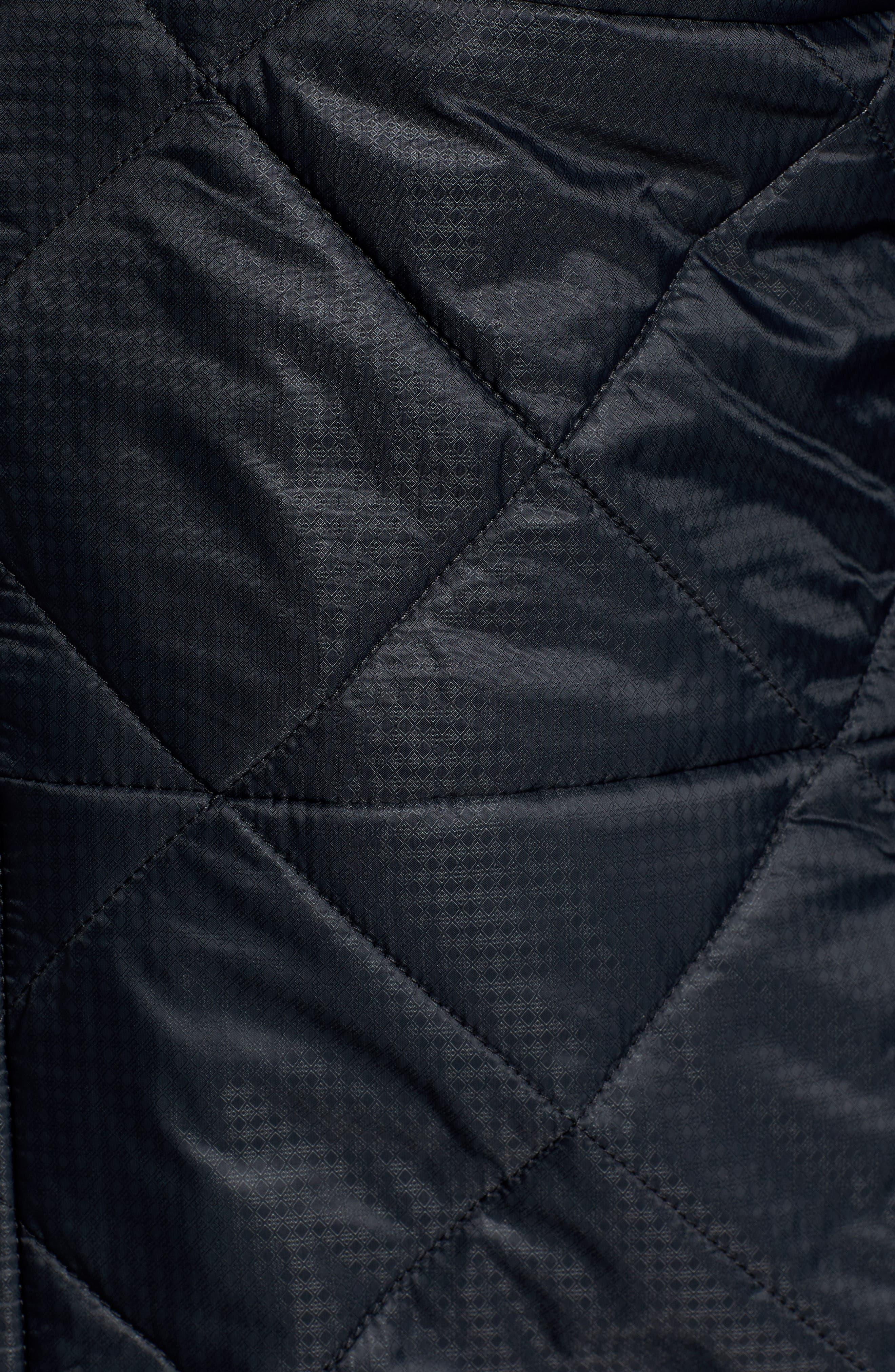 Regular Fit SmartLoft 120 Jacket,                             Alternate thumbnail 6, color,                             BLACK