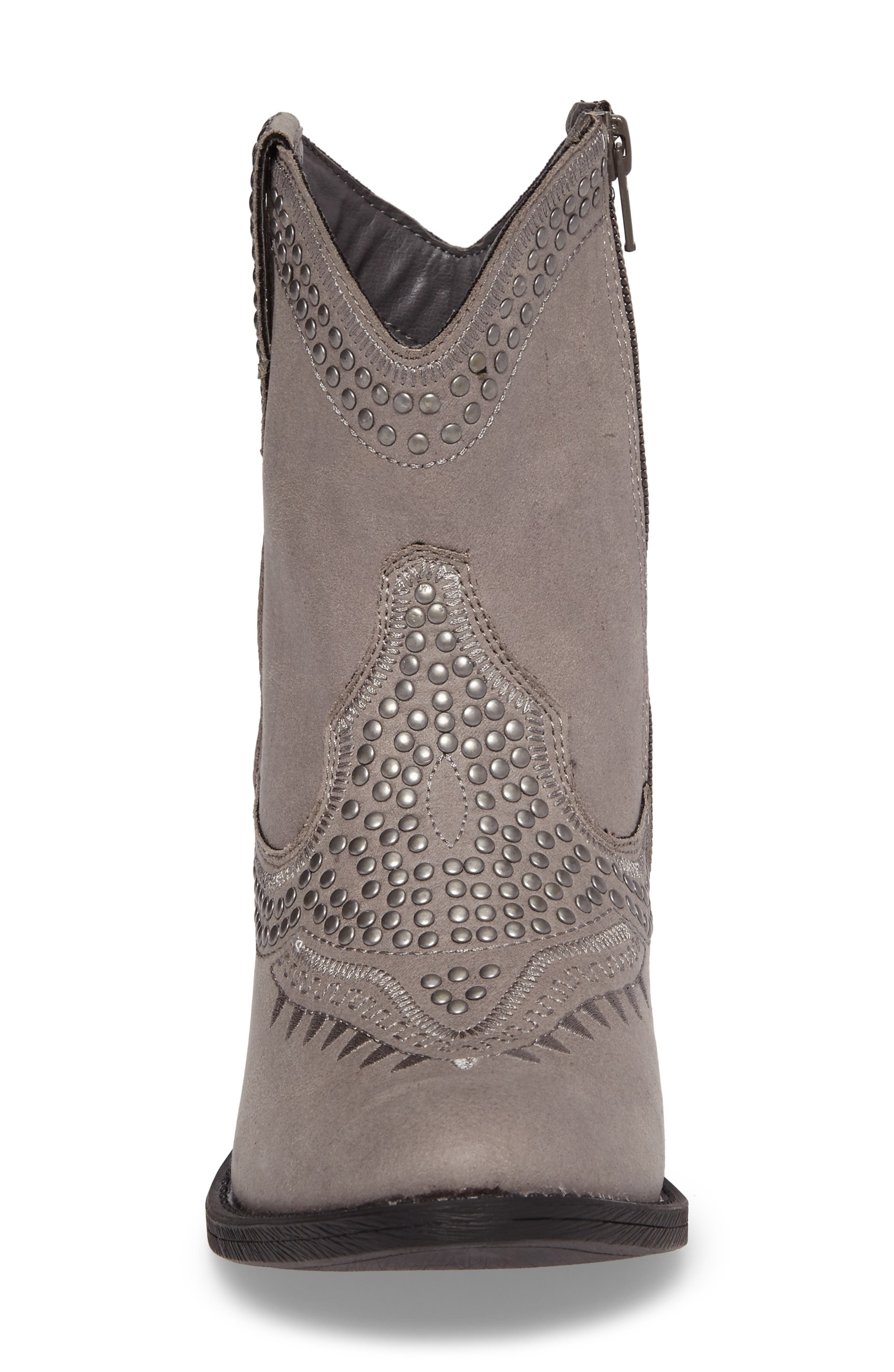 Amour Embellished Western Bootie,                             Alternate thumbnail 4, color,                             023