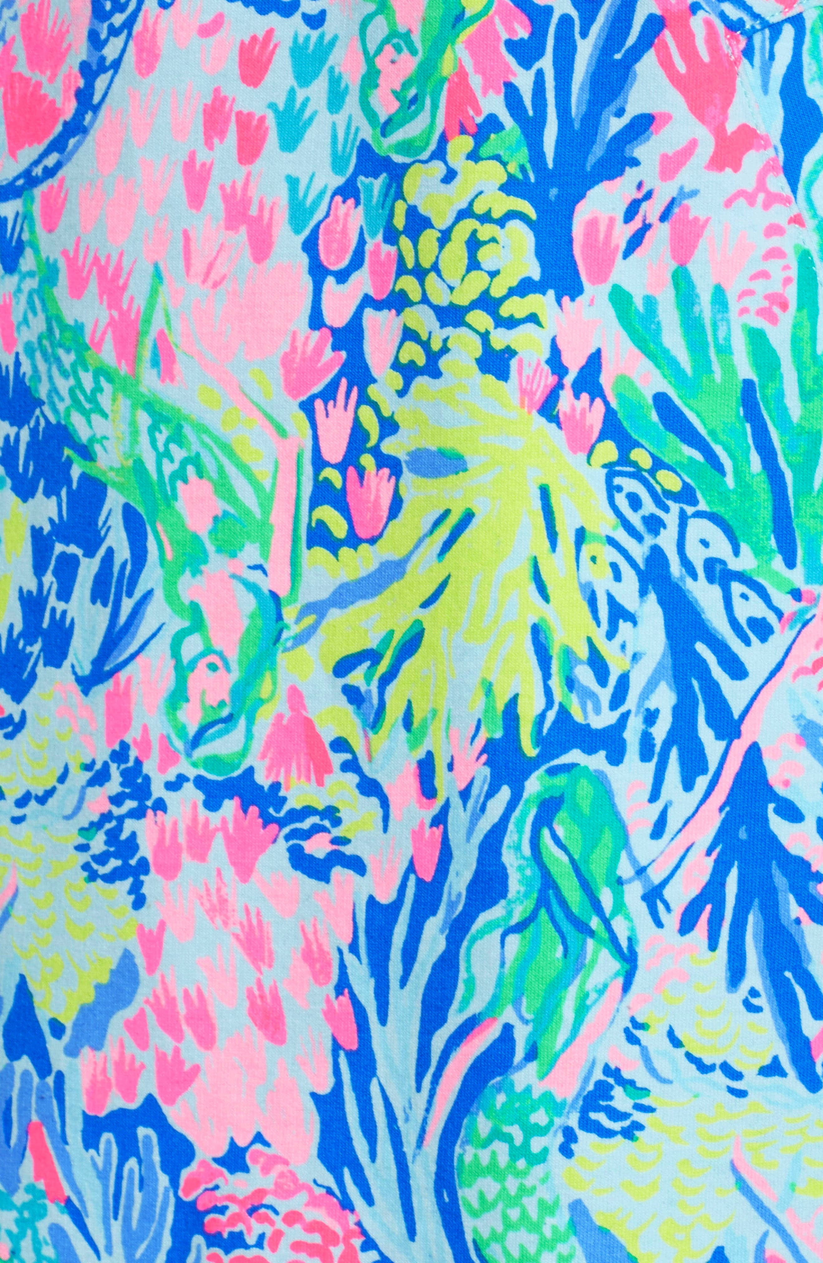LILLY PULITZER<SUP>®</SUP>,                             Lilly Pulitzer Skipper Shift Dress,                             Alternate thumbnail 6, color,                             449