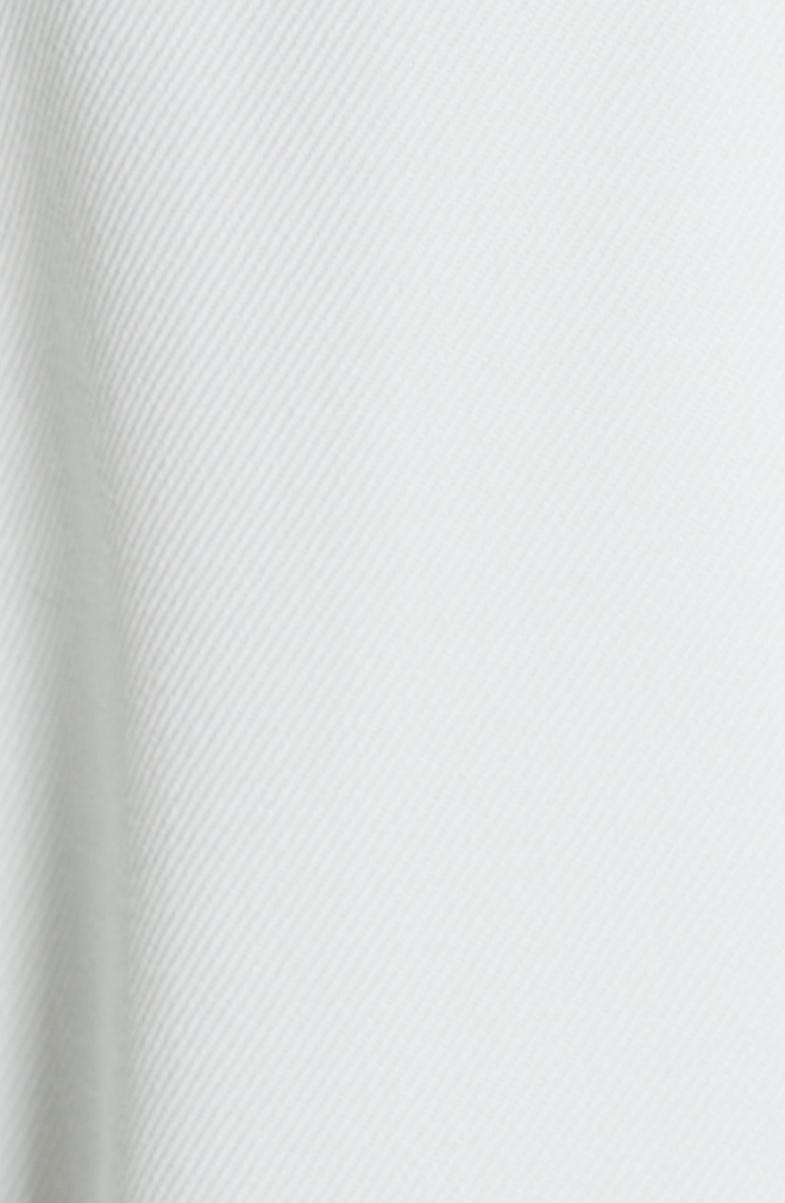 Wool Twill Double Breasted Blazer,                             Alternate thumbnail 6, color,                             LIGHT AQUA
