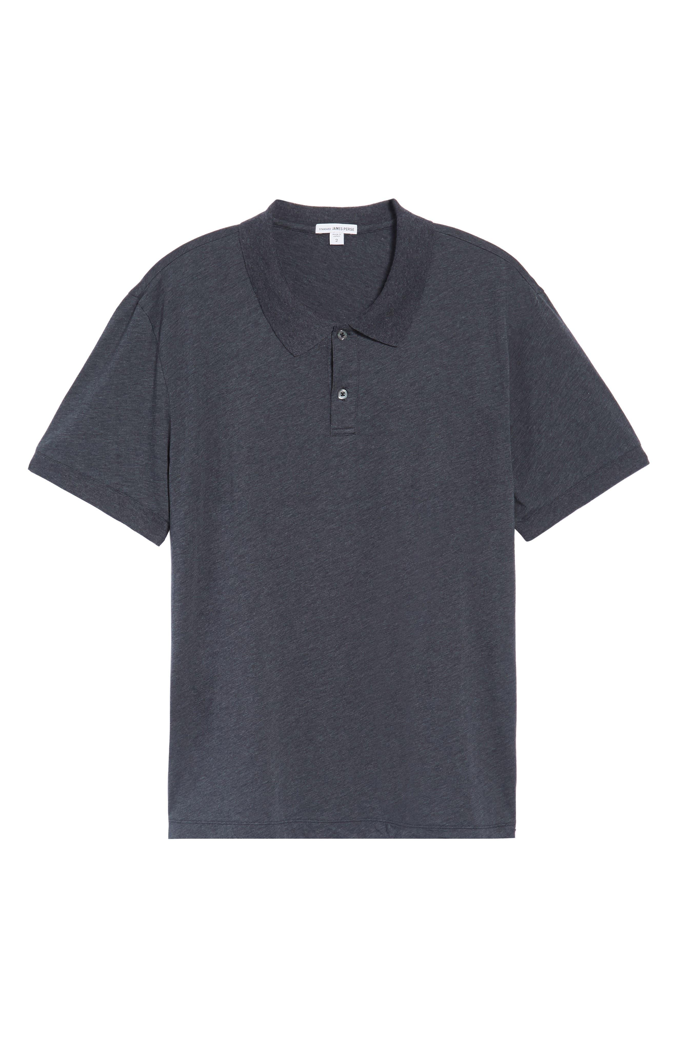 Clean Cotton & Cashmere Polo,                             Alternate thumbnail 6, color,                             411