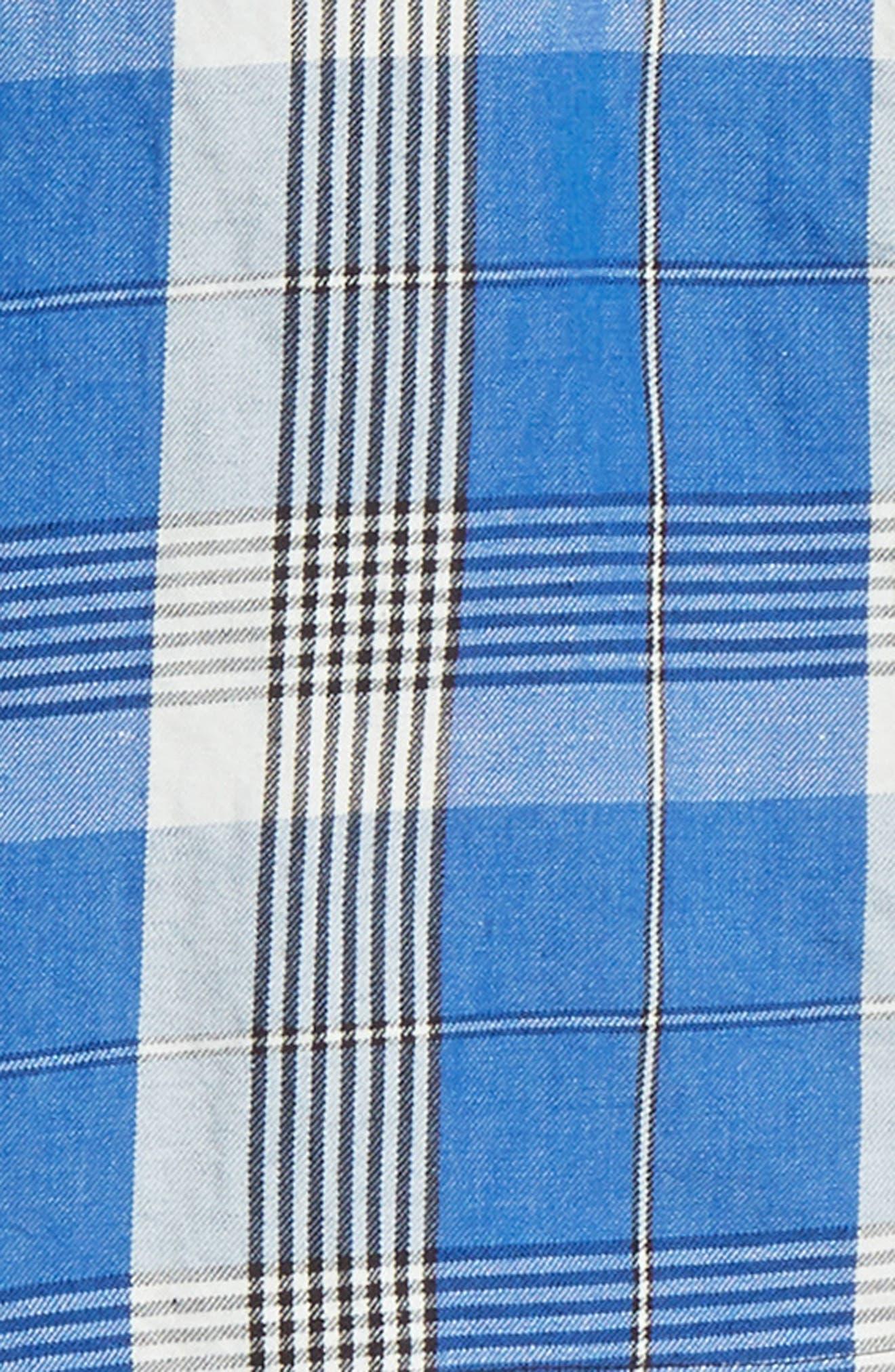 Check Shirt,                             Alternate thumbnail 7, color,                             BLUE