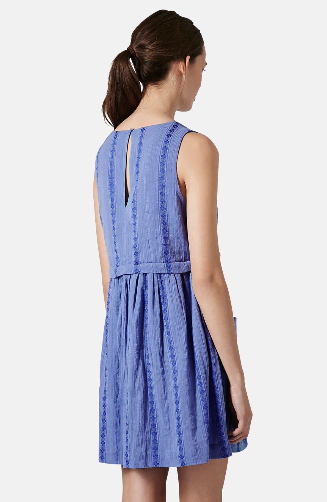 Overlay Tunic Dress,                             Alternate thumbnail 4, color,                             420