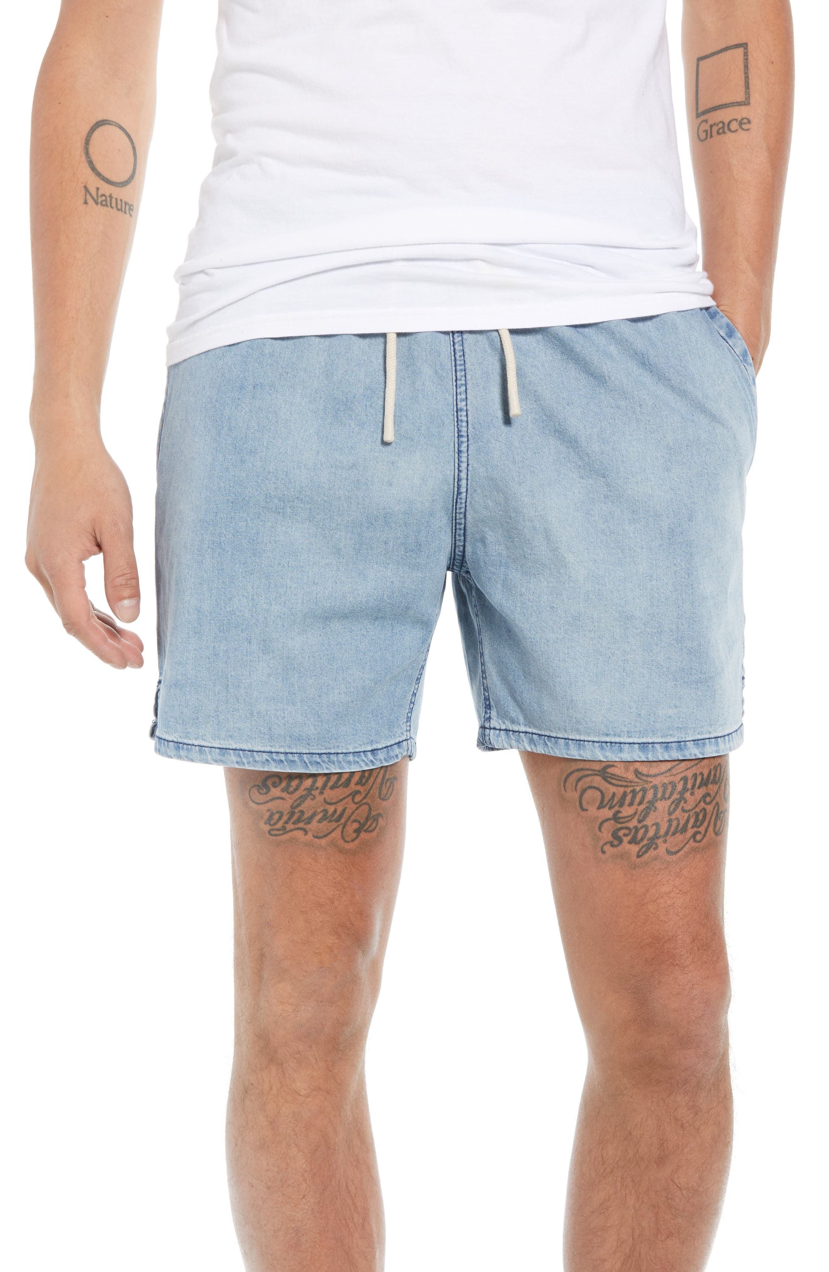 Zephyr Shorts,                         Main,                         color, ARTIC WASH