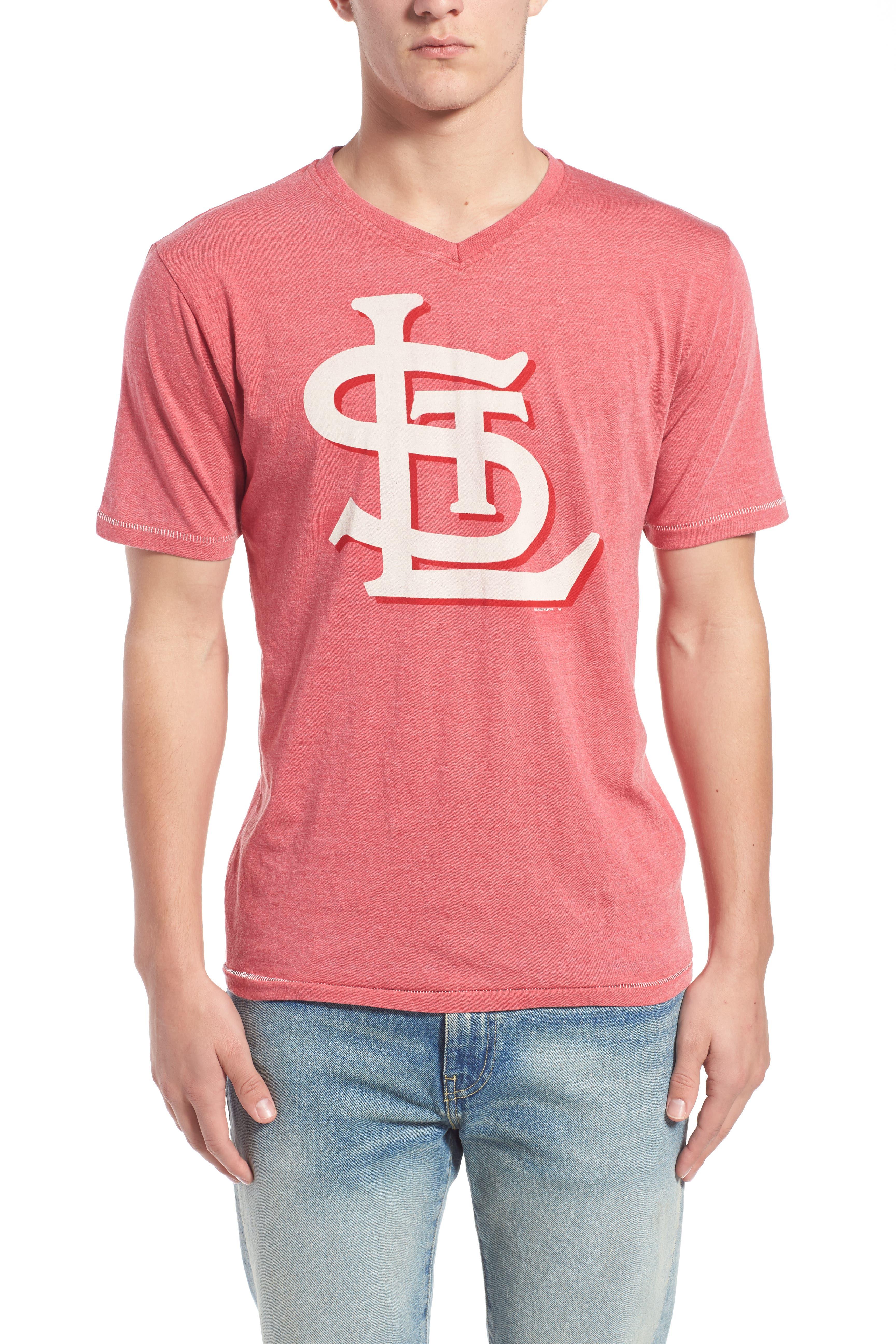'Saint Louis Cardinals - Calumet' Graphic V-Neck T-Shirt,                             Alternate thumbnail 7, color,