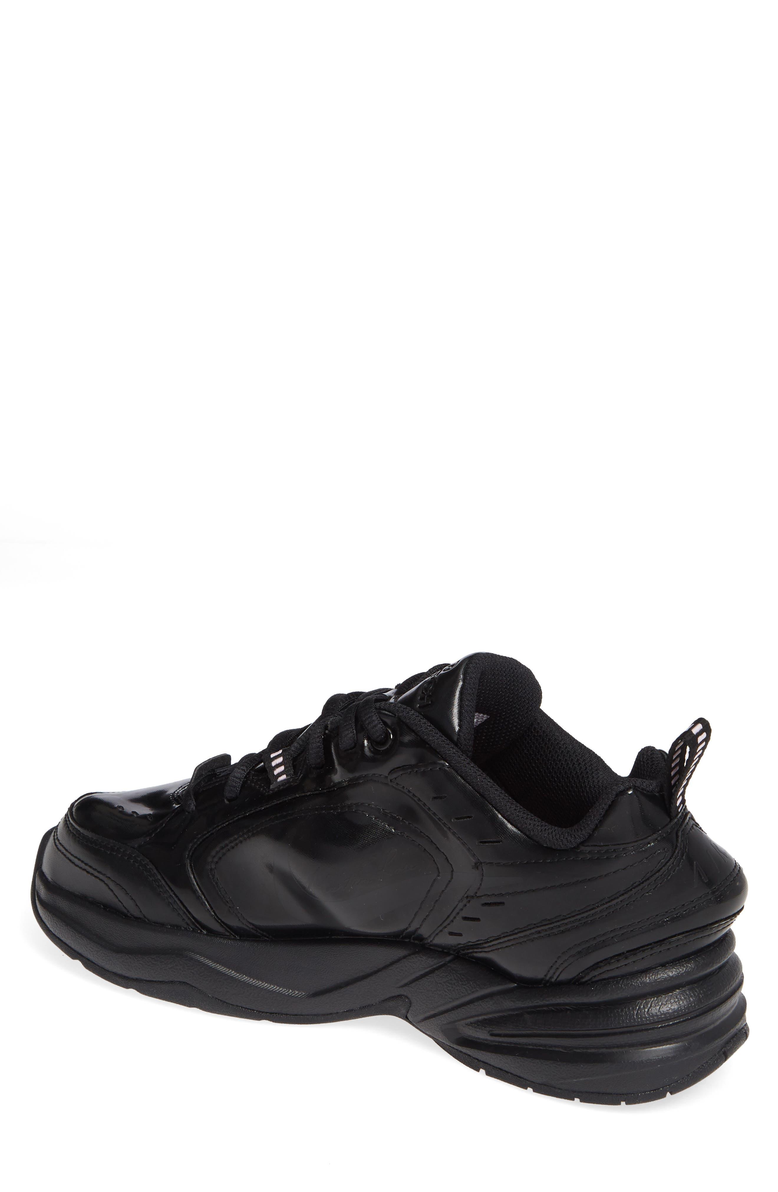 x Martine Rose Air Monarch IV Sneaker,                             Alternate thumbnail 2, color,                             BLACK/ SOFT PINK