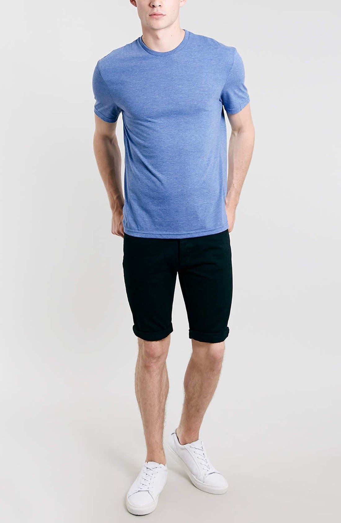 Slim Fit Crewneck T-Shirt,                             Alternate thumbnail 152, color,