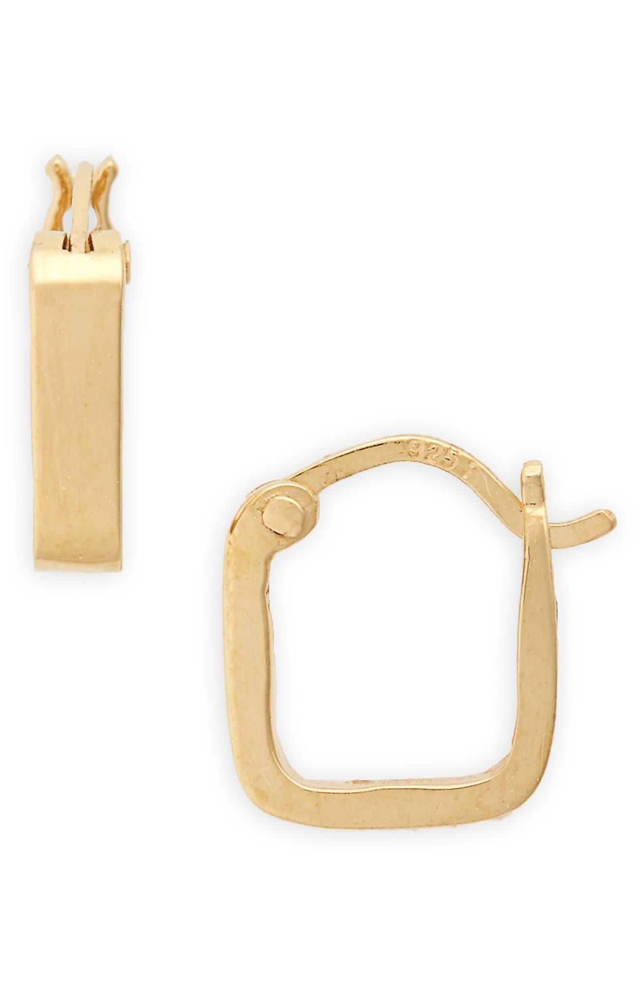 x Radisha Jones Square Hoop Earrings,                         Main,                         color, 710