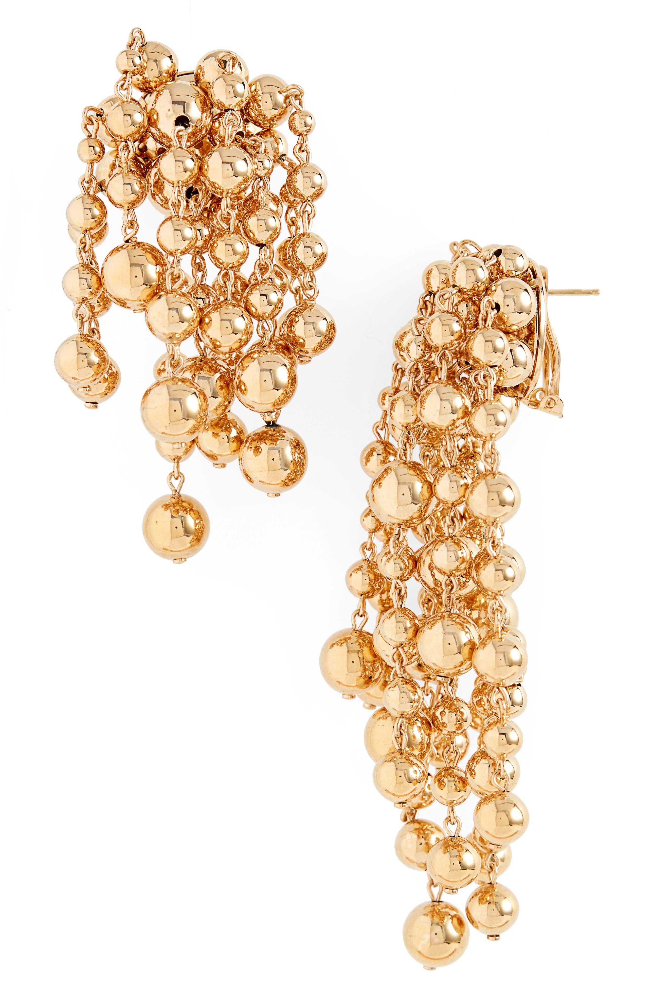 Yasmin Mismatched Earrings,                             Main thumbnail 1, color,                             GOLD