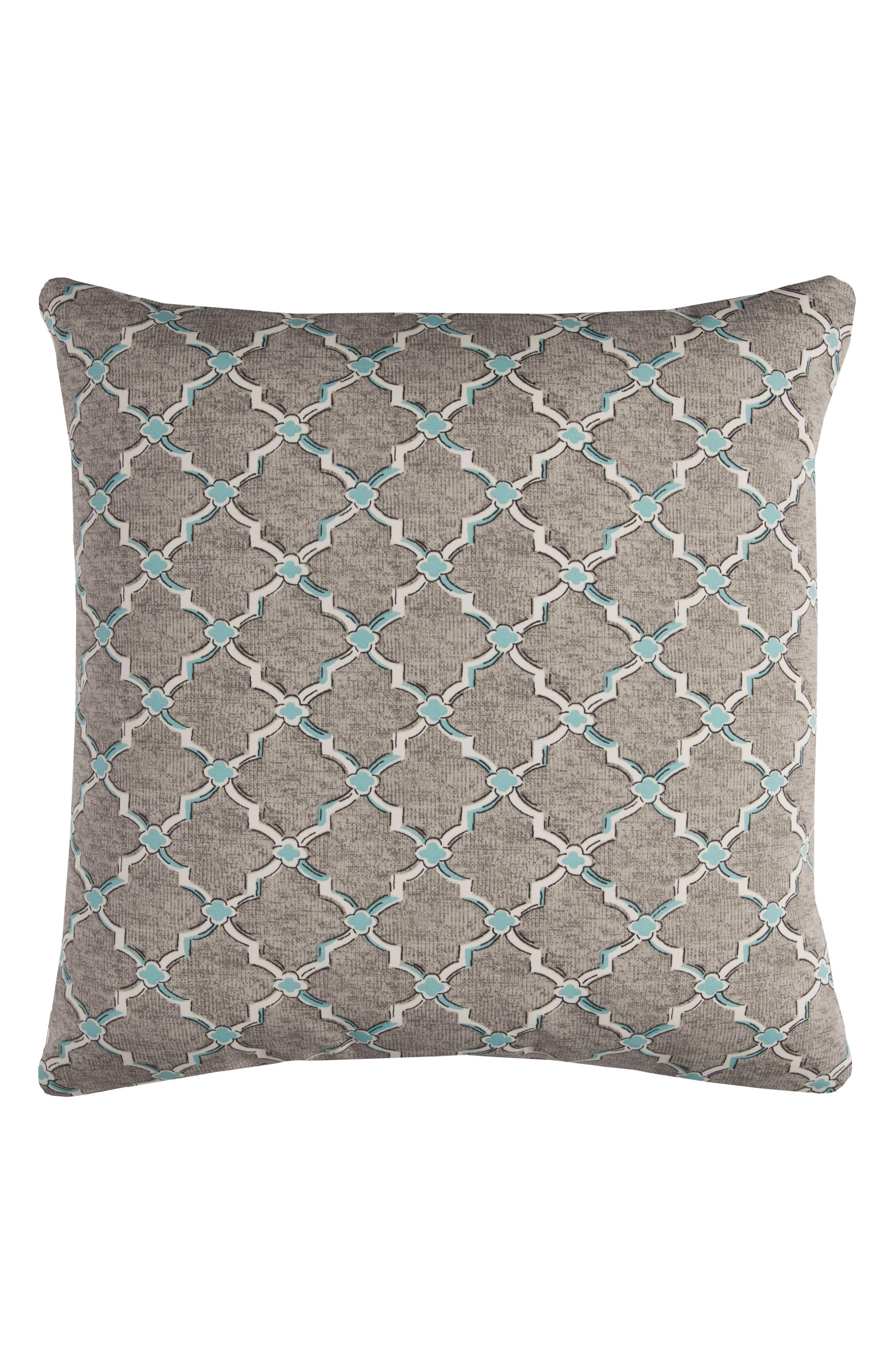 Chevron Outdoor Pillow,                             Main thumbnail 2, color,