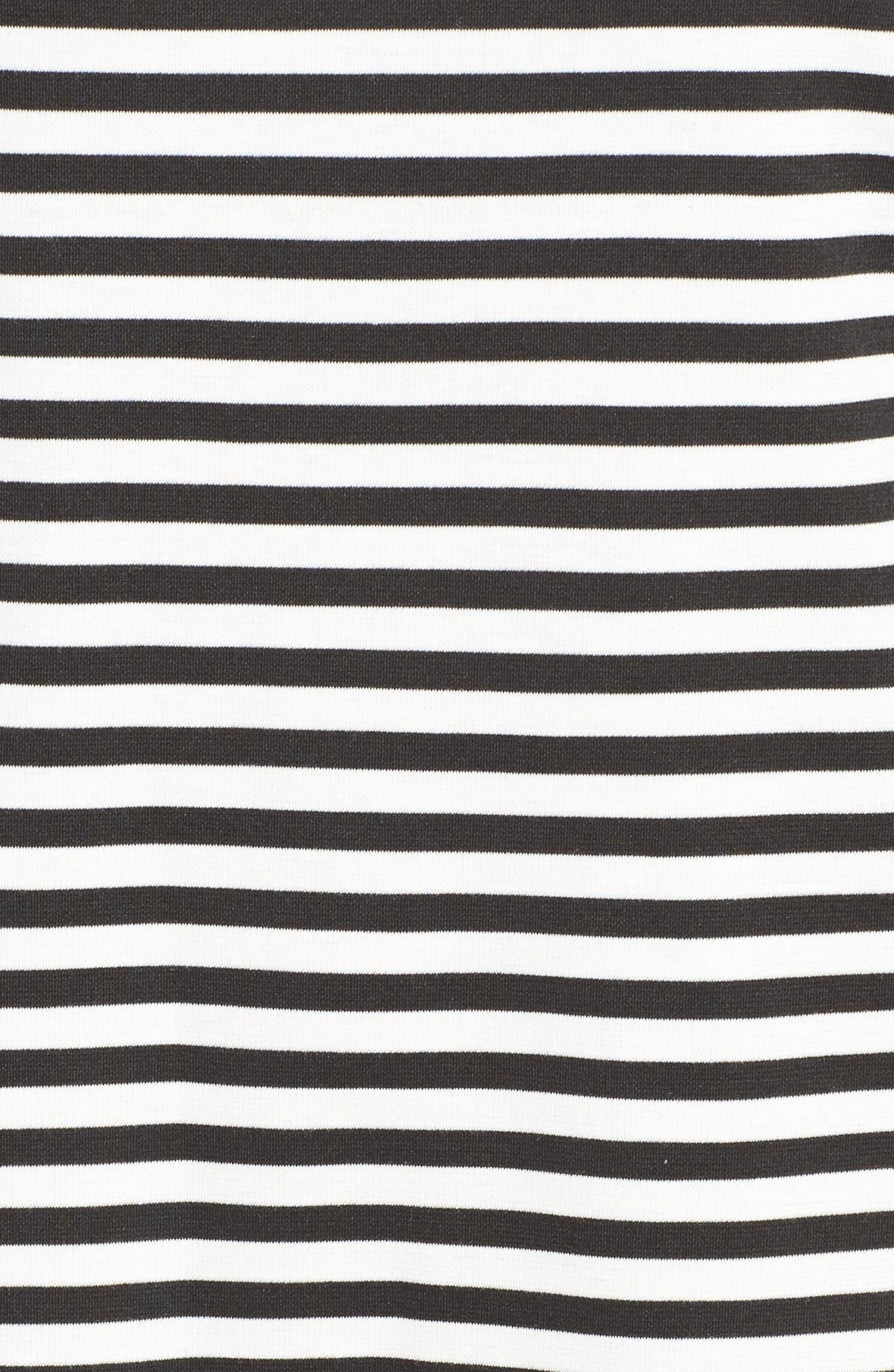 Ruffle Sleeve Shift Dress,                             Alternate thumbnail 21, color,