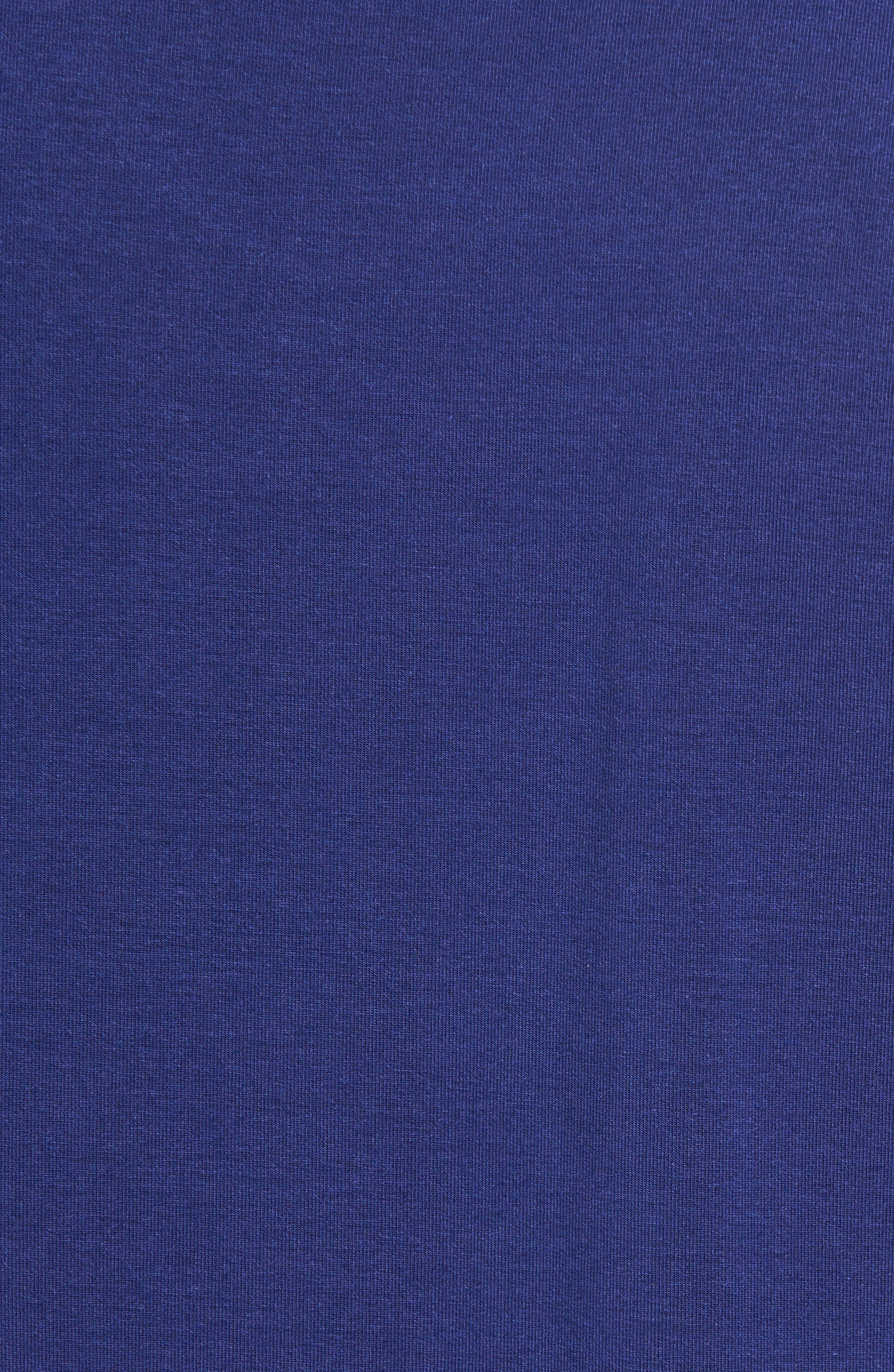 V-Neck Stretch Modal T-Shirt,                             Alternate thumbnail 5, color,                             413