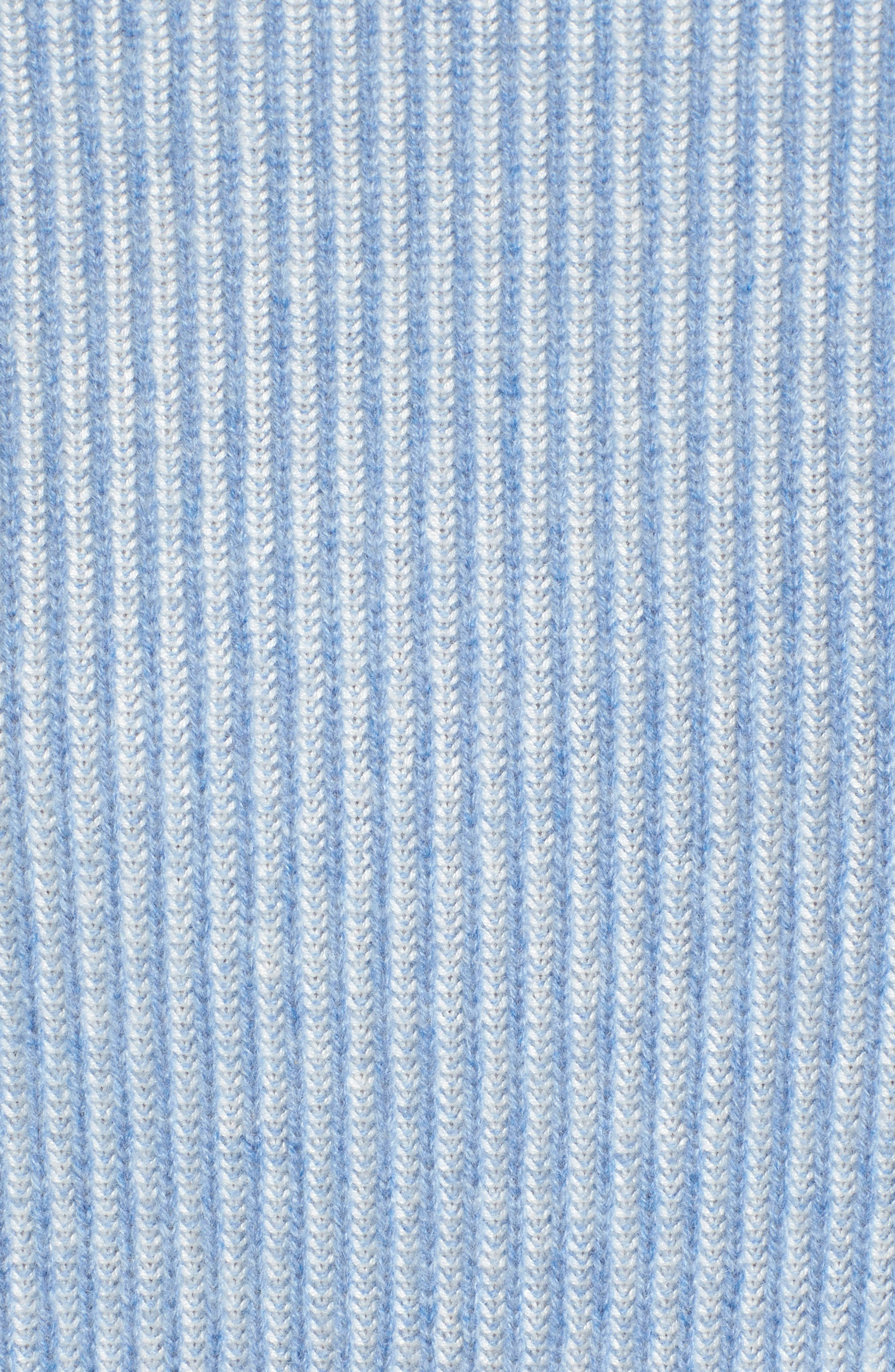 Cashmere & Silk Blend Plaited Pullover,                             Alternate thumbnail 5, color,                             420
