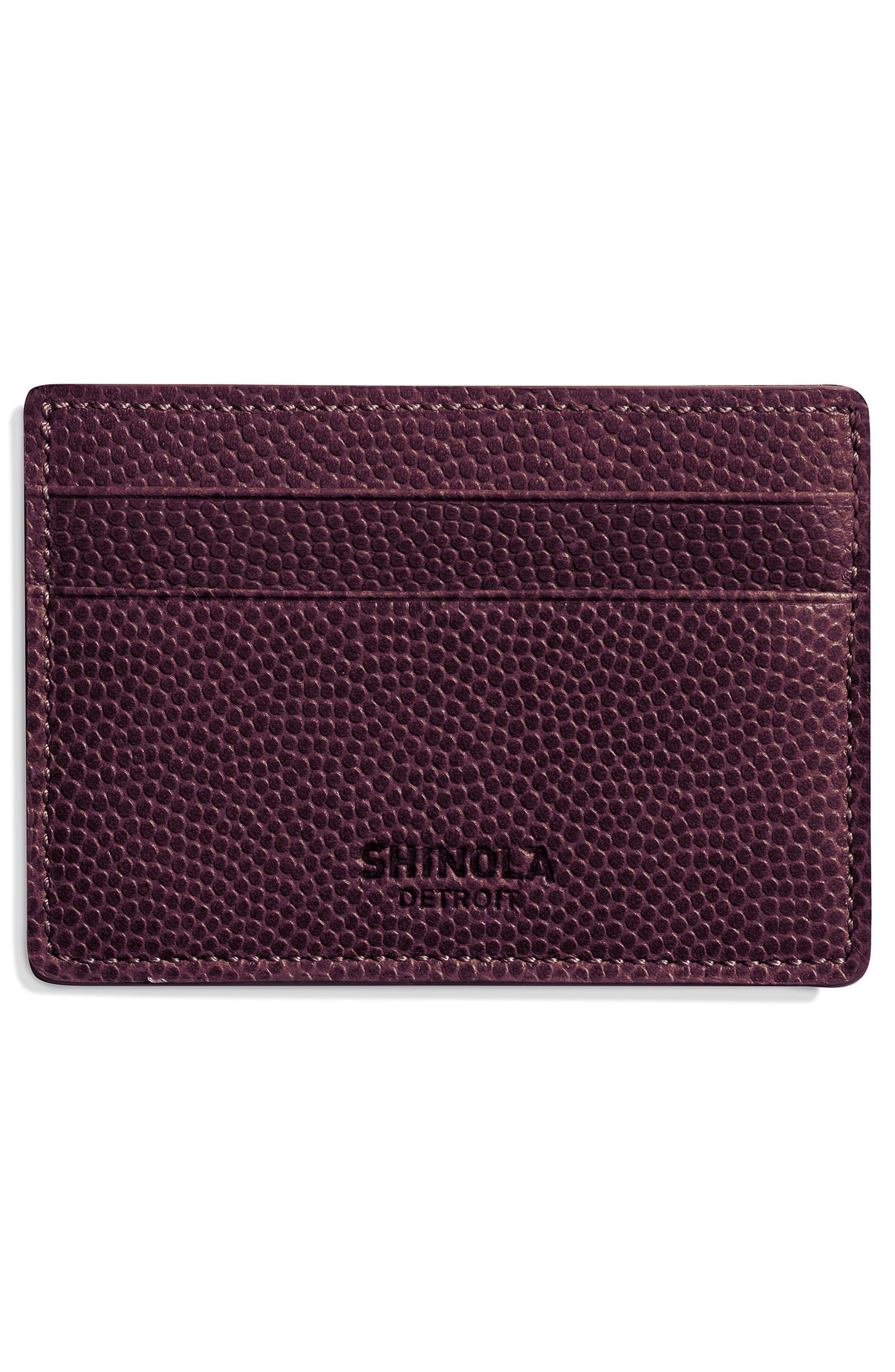 Latigo Leather Card Case,                             Alternate thumbnail 6, color,