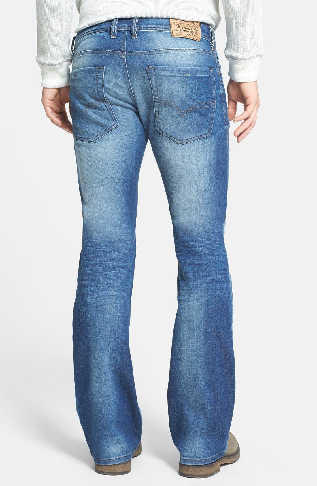 Zathan Bootcut Jeans,                             Alternate thumbnail 3, color,                             499