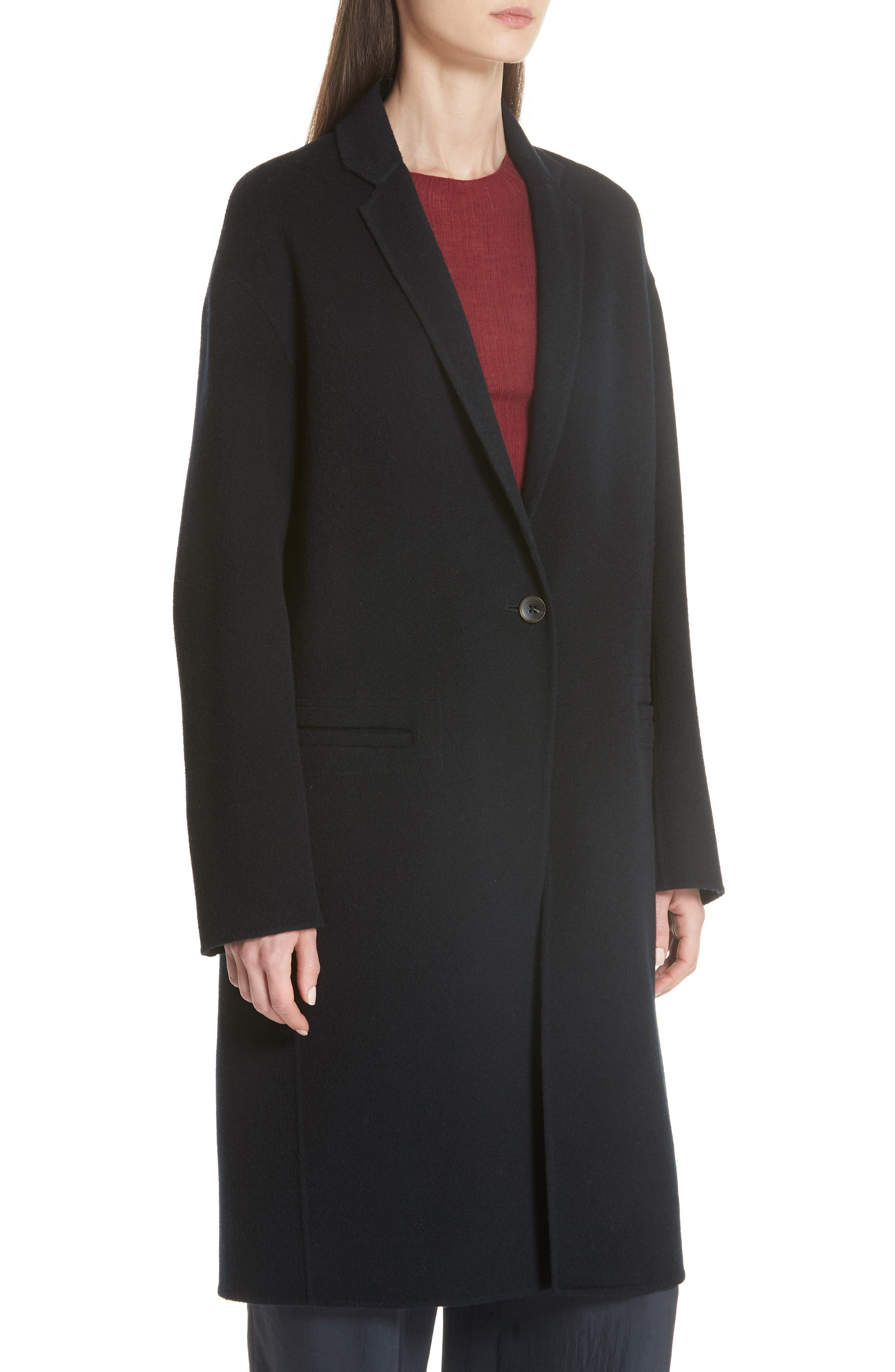 Modern Coat,                             Alternate thumbnail 4, color,                             COASTAL