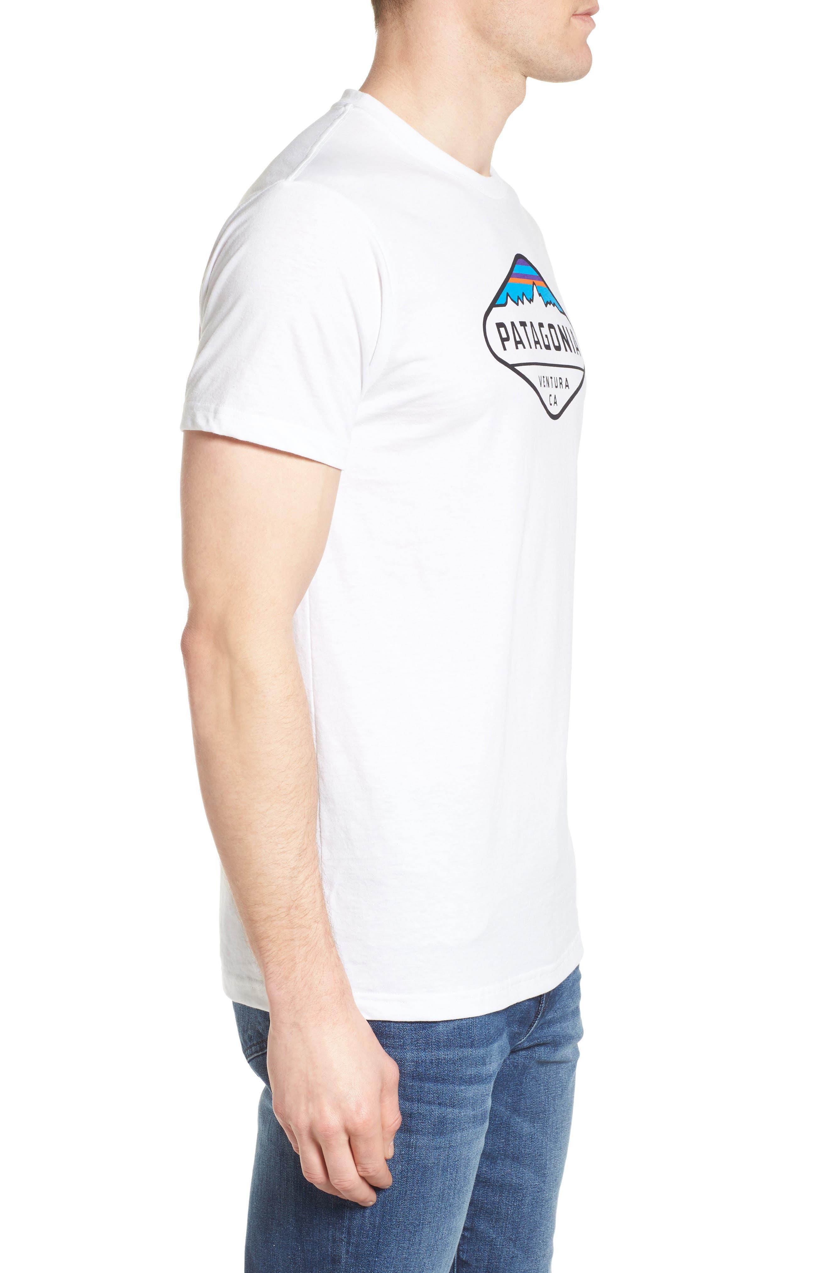 'Fitz Roy Crest' Slim Fit Organic Cotton Blend T-Shirt,                             Alternate thumbnail 19, color,