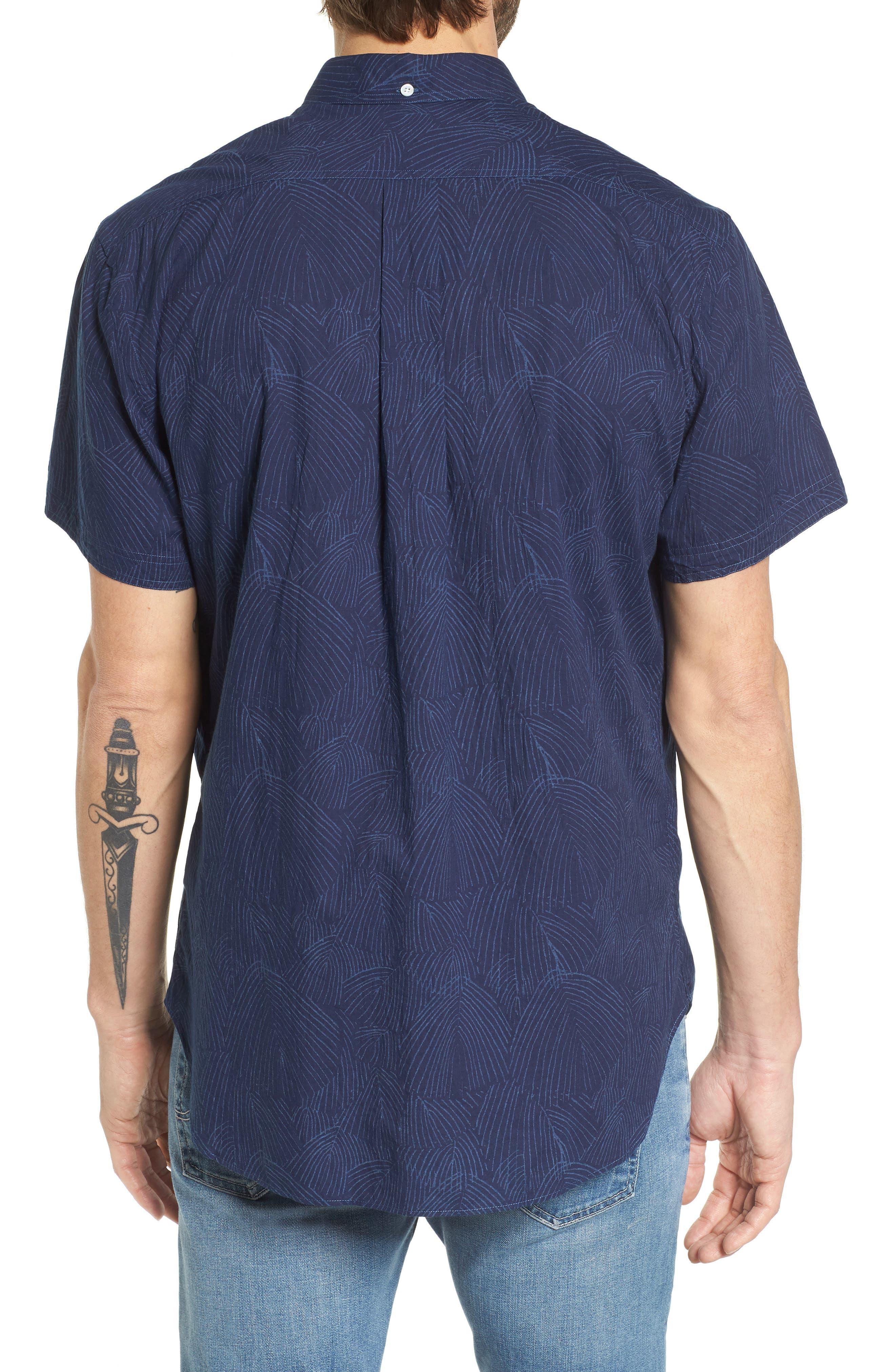 Tuscumbia Slim Fit Sport Shirt,                             Alternate thumbnail 2, color,                             407