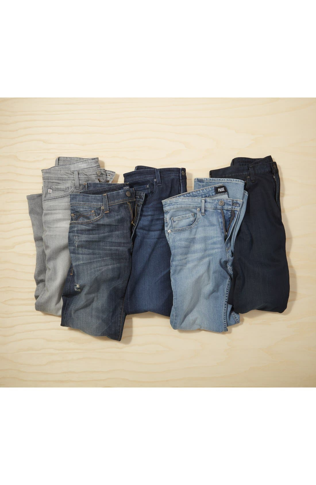 Gage Slim Straight Leg Jeans,                             Alternate thumbnail 7, color,                             474
