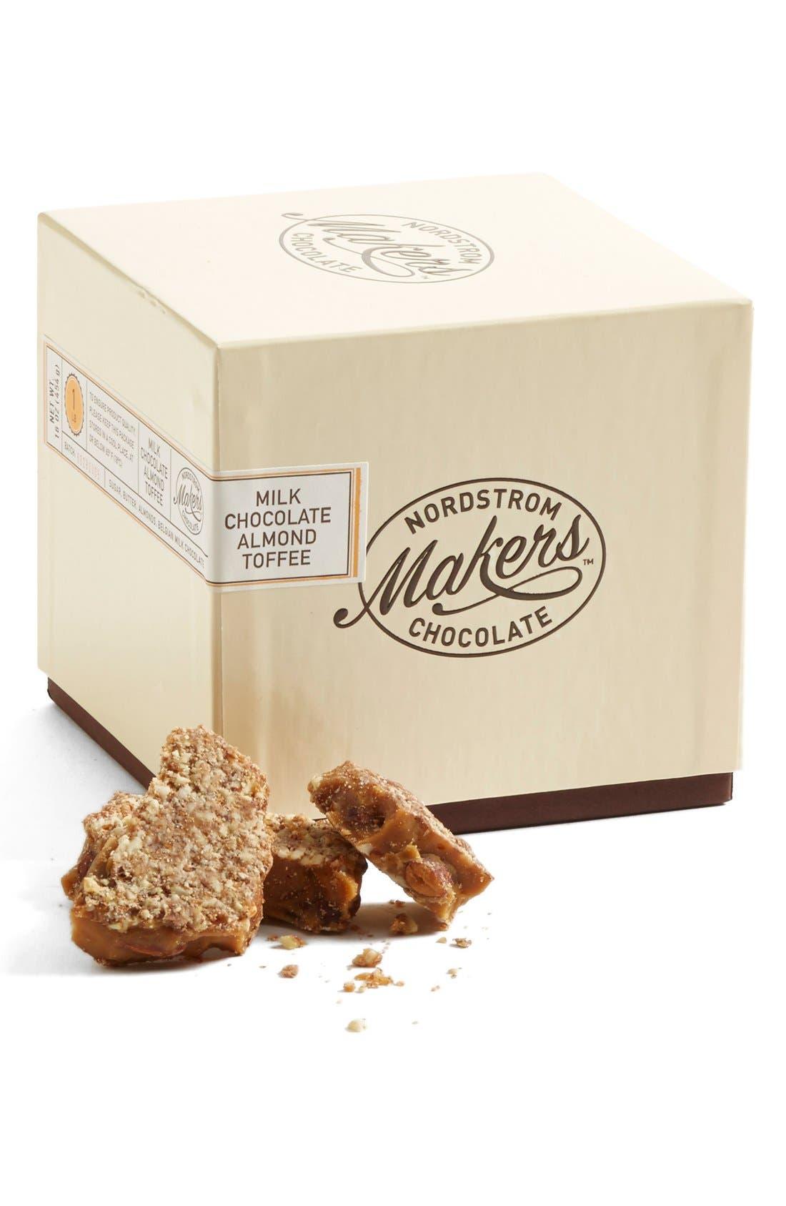 Milk Chocolate Almond Toffee,                         Main,                         color, NO COLOR