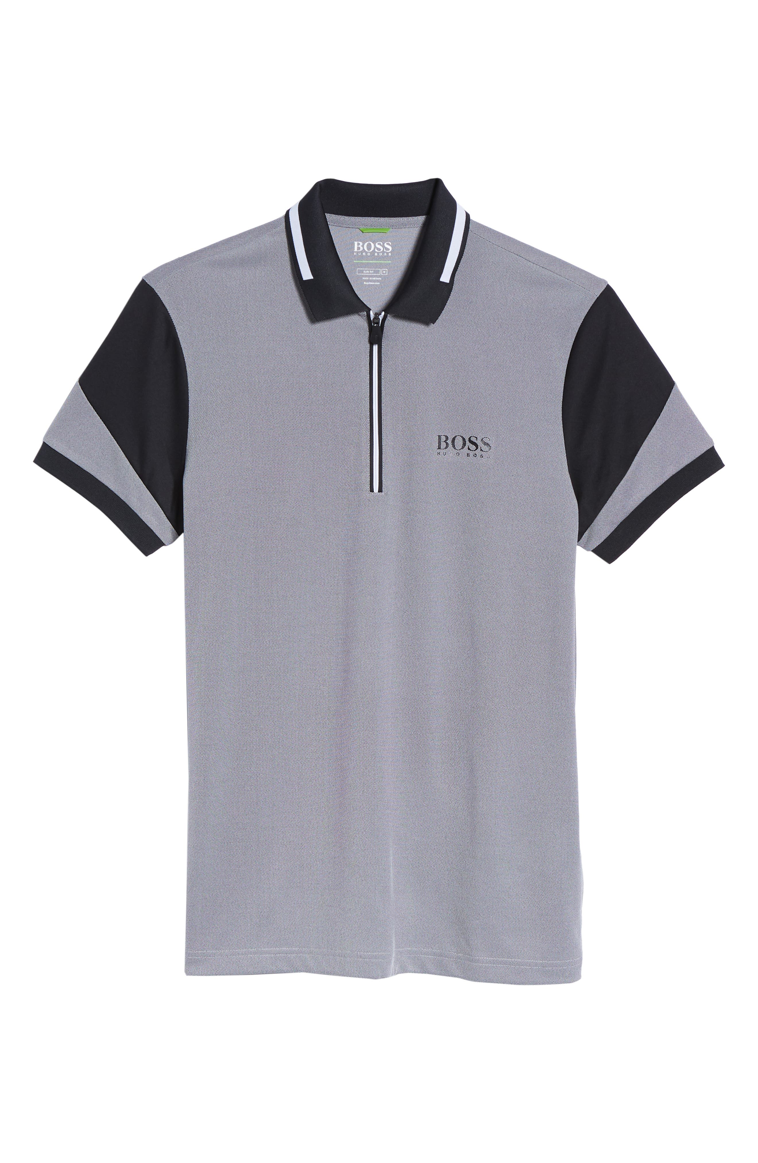 Pro Slim Fit Golf Polo,                             Alternate thumbnail 6, color,