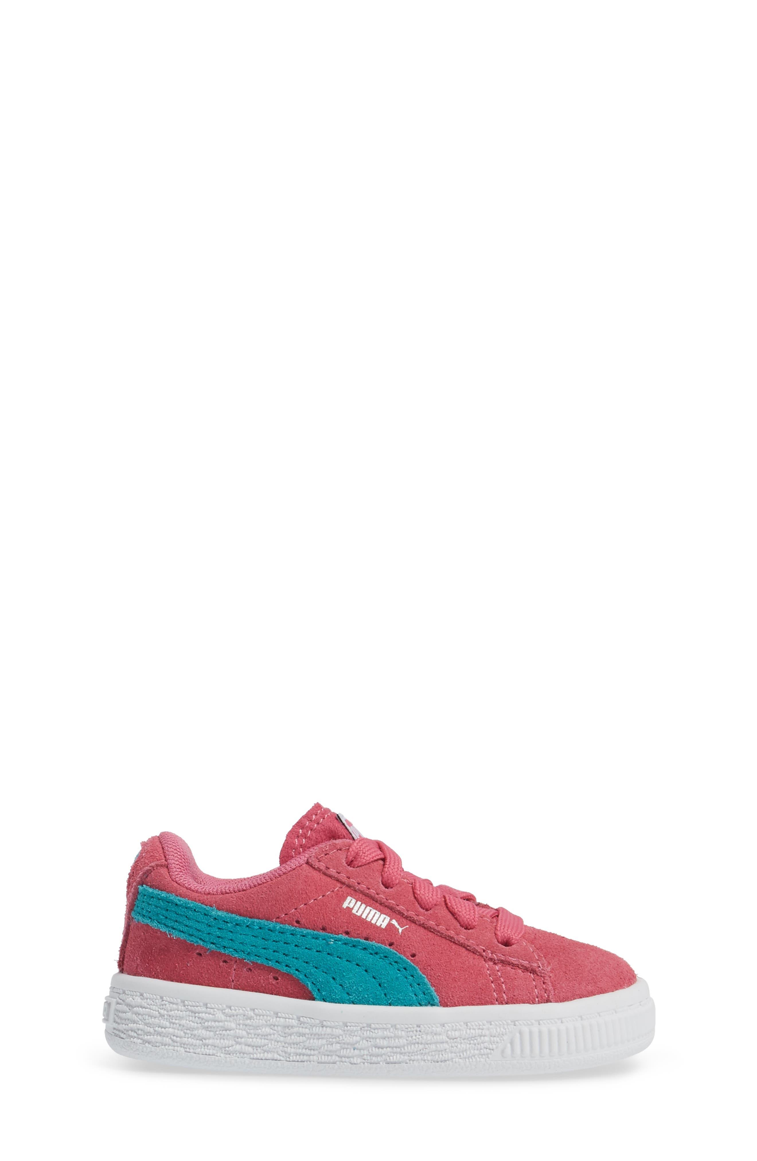 Suede Sneaker,                             Alternate thumbnail 3, color,                             690