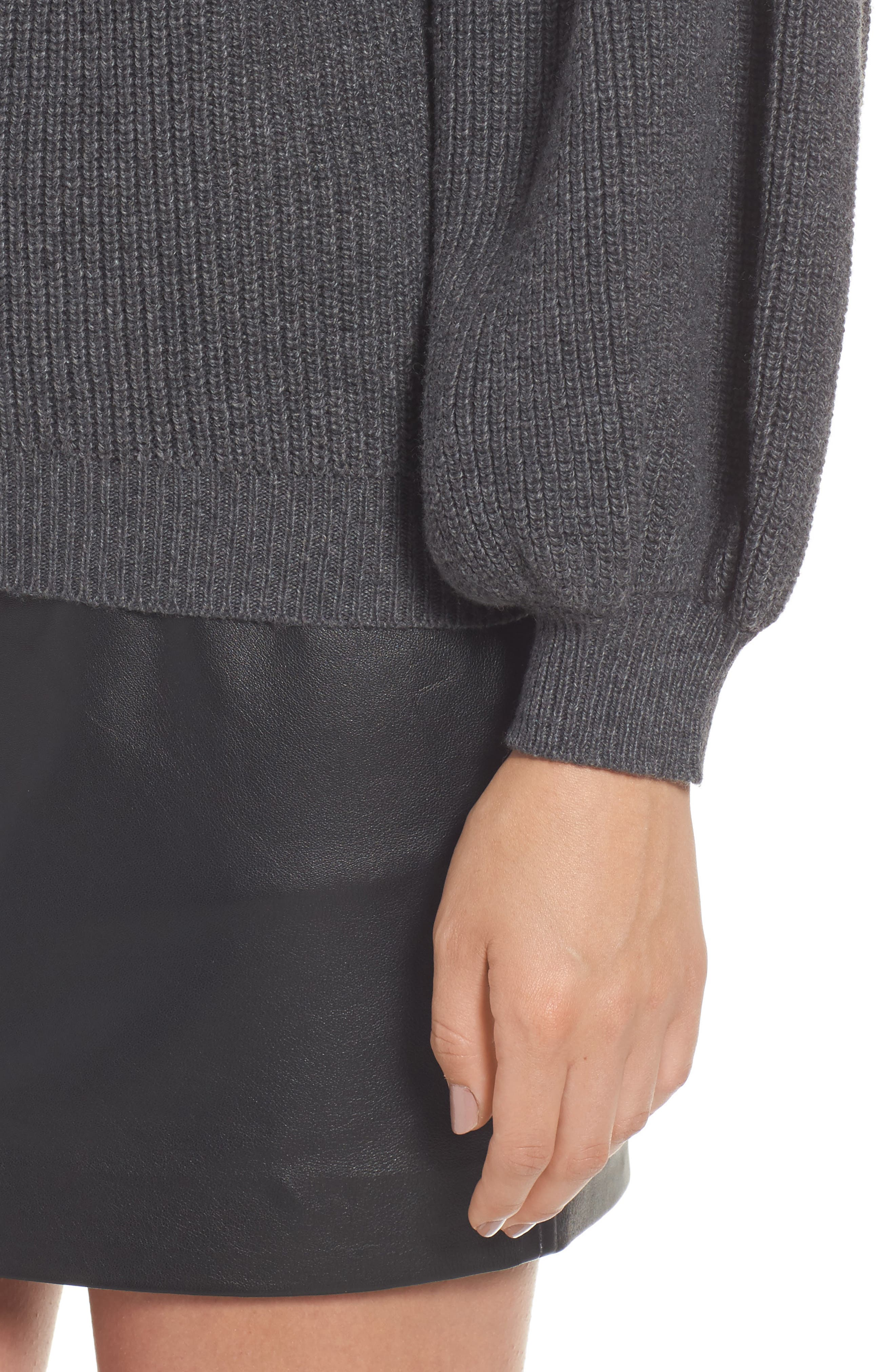 Blouson Sleeve Sweater,                             Alternate thumbnail 4, color,                             031