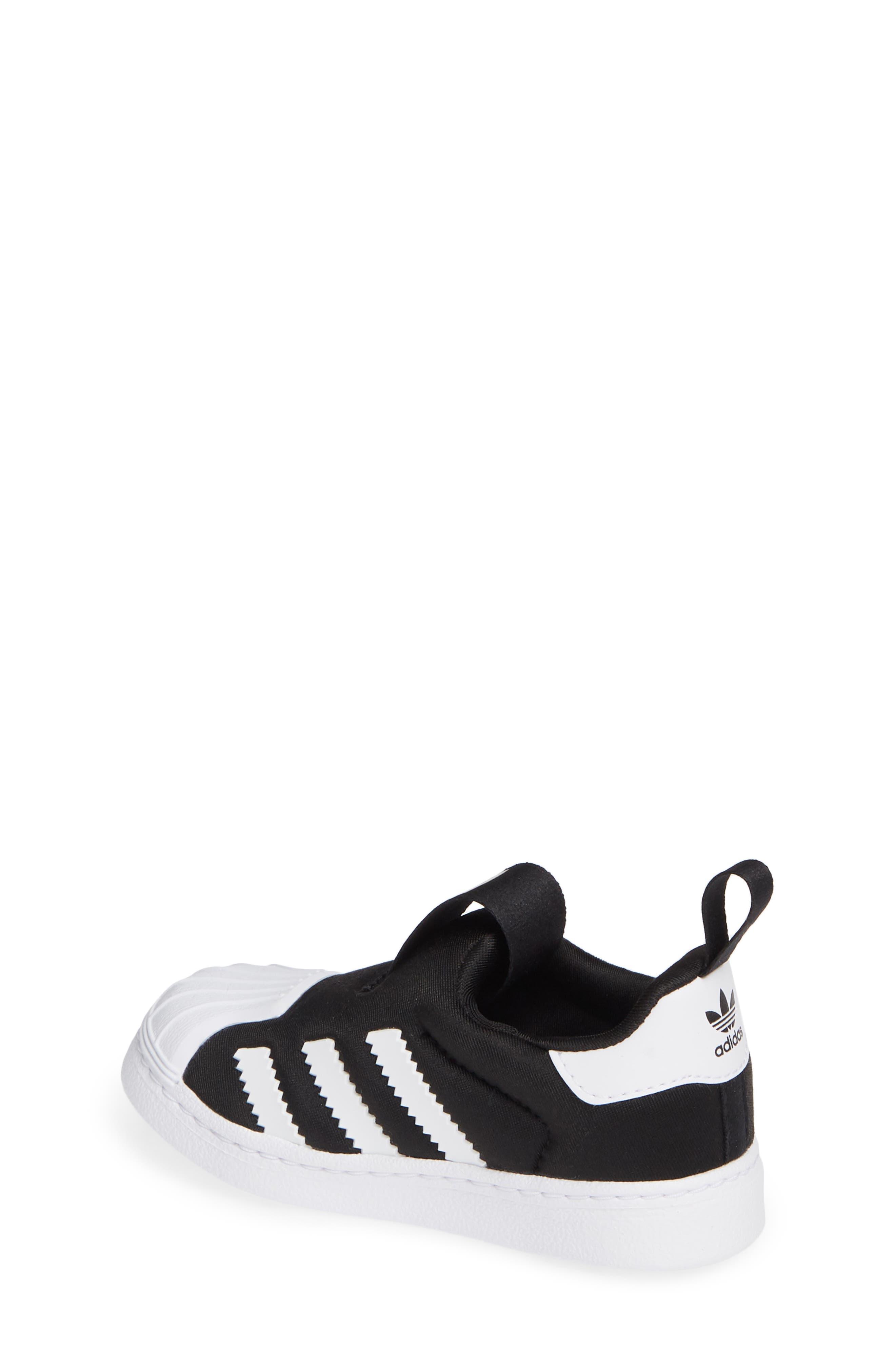 Superstar 360 I Sneaker,                             Alternate thumbnail 2, color,                             CORE BLACK/ WHITE/ GOLD MET