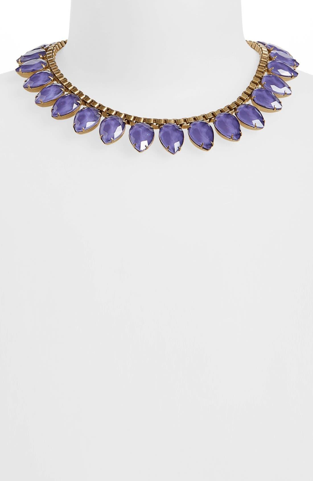 'Sylvia' Crystal Collar Necklace,                             Alternate thumbnail 16, color,