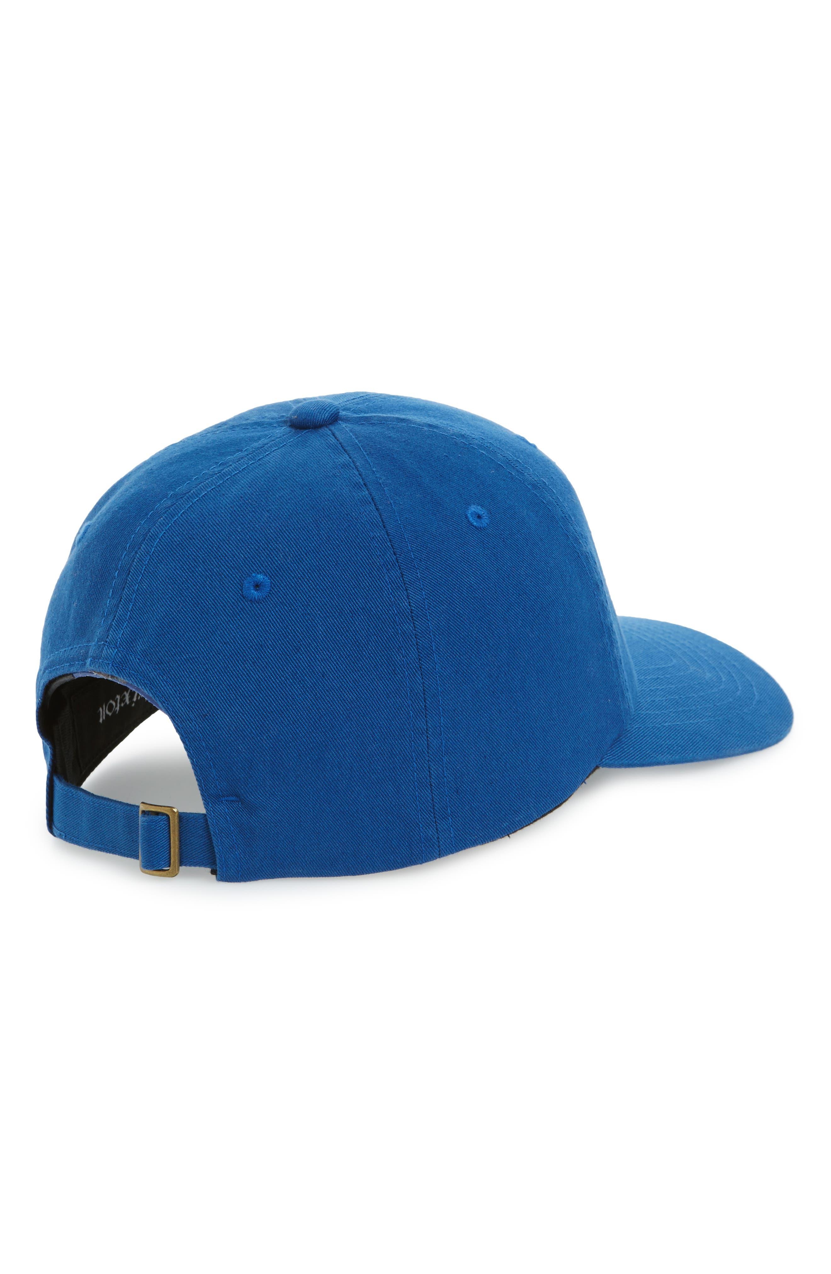 Stowell Baseball Cap,                             Alternate thumbnail 2, color,                             ROYAL