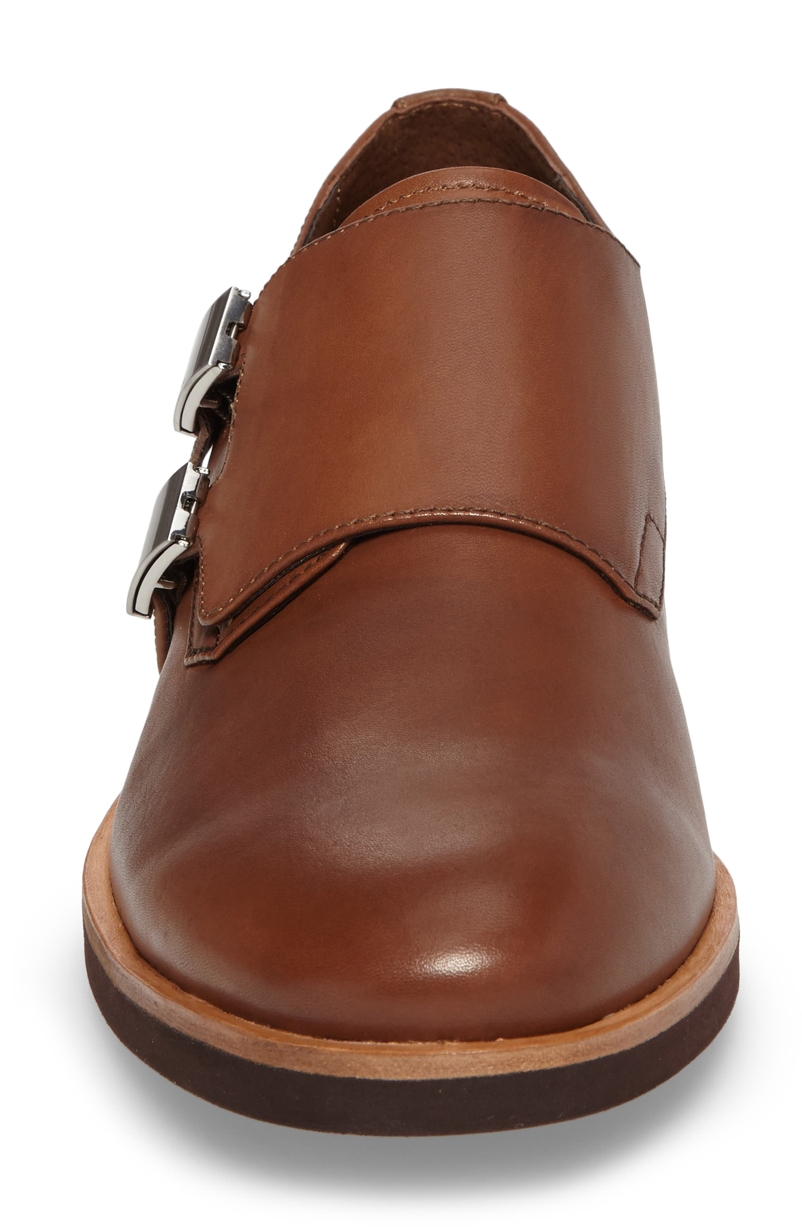 Finnegan Double Monk Strap Shoe,                             Alternate thumbnail 8, color,