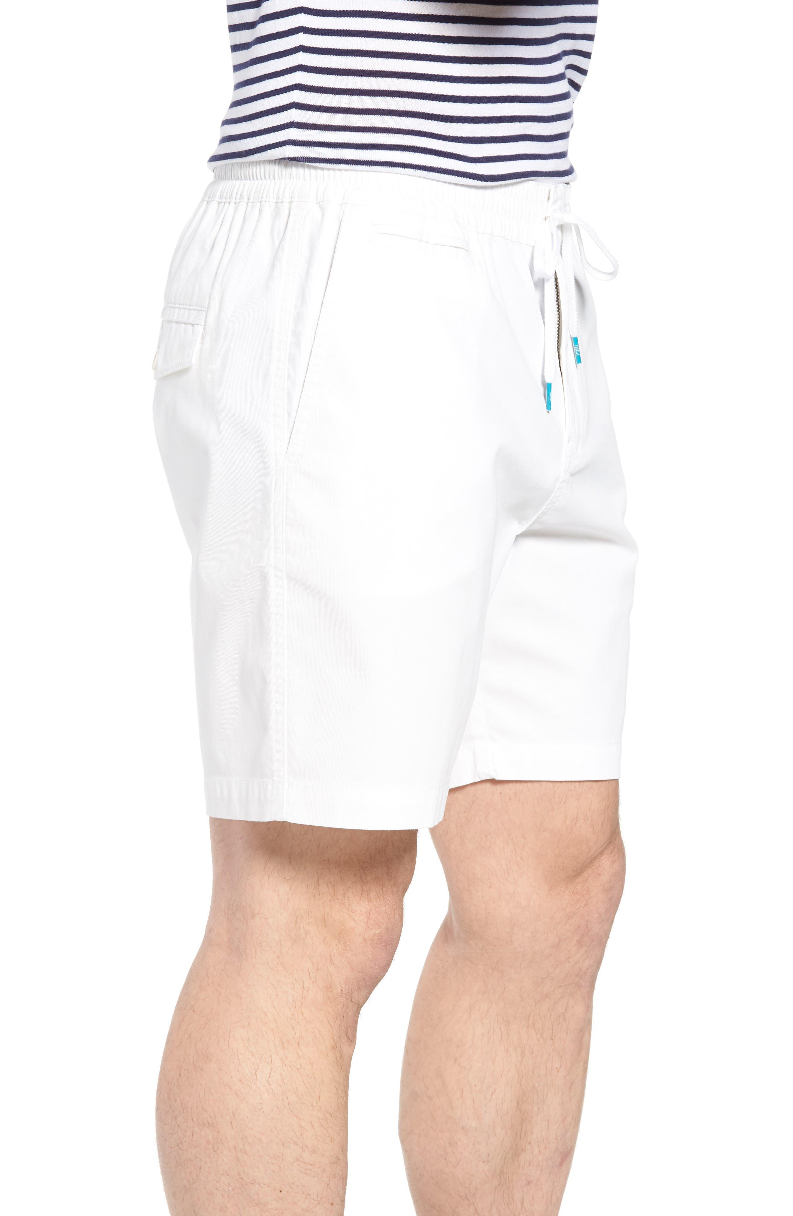 Drawstring Bedford Corduroy Shorts,                             Alternate thumbnail 3, color,                             100