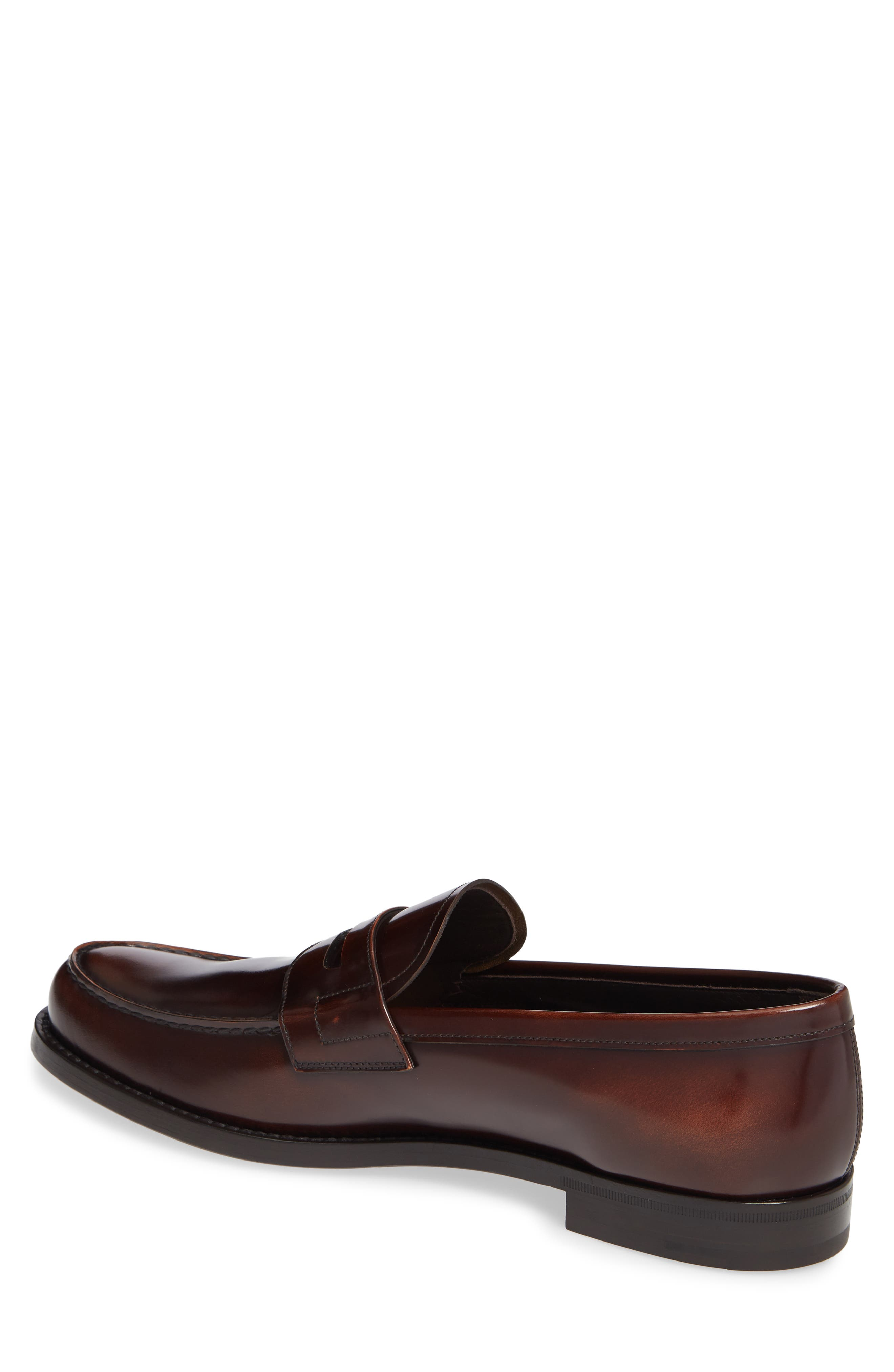 Penny Loafer,                             Alternate thumbnail 2, color,                             TOBACCO