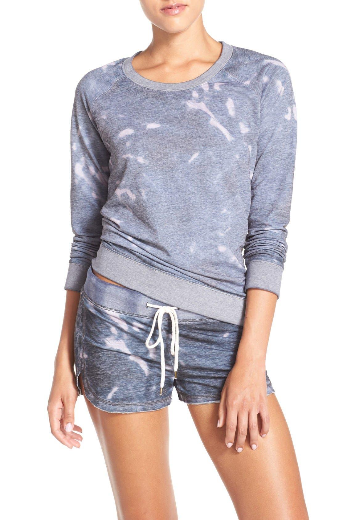 Burnout Lounge Sweatshirt,                             Alternate thumbnail 100, color,
