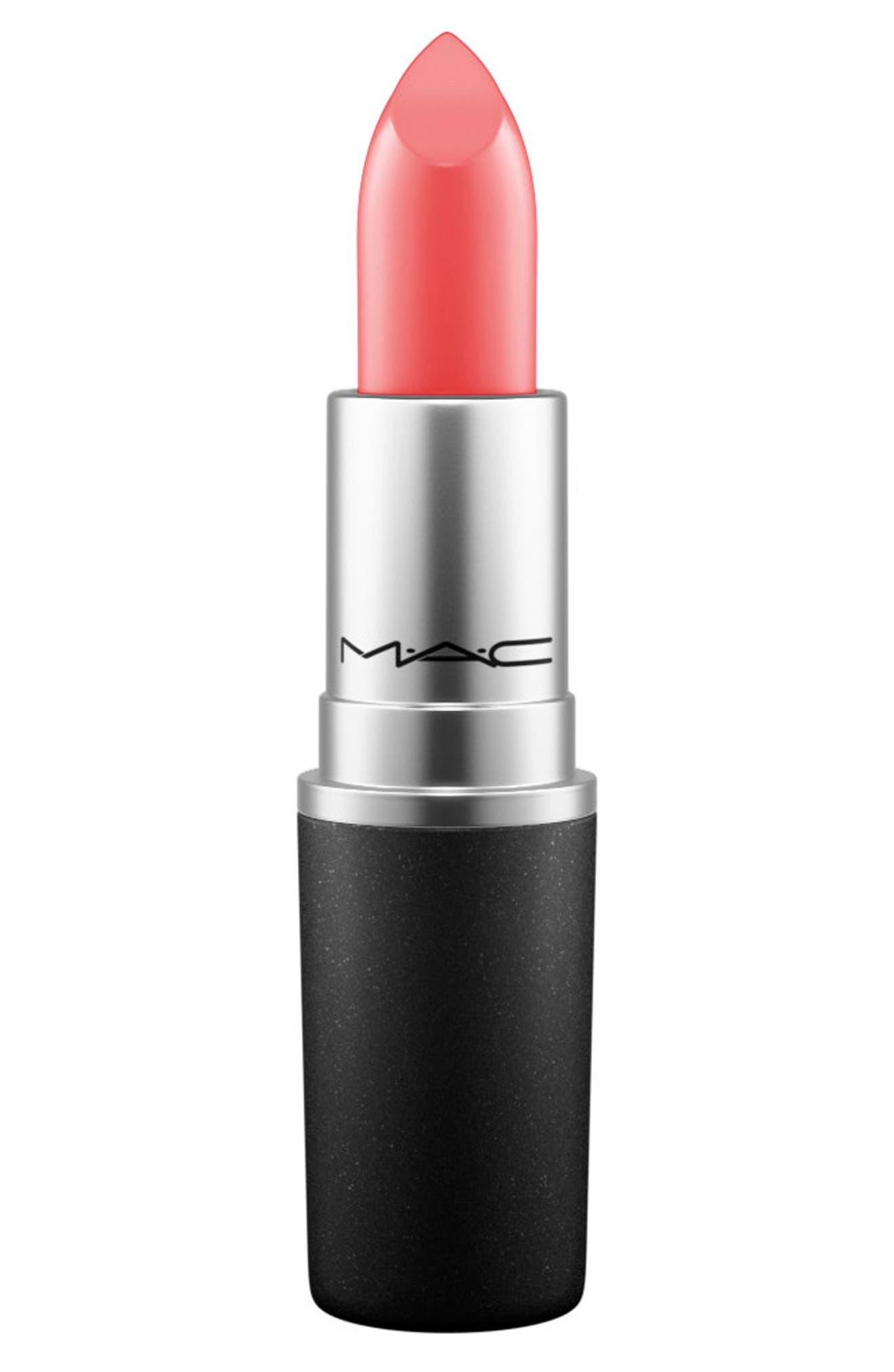 MAC Coral Lipstick,                             Main thumbnail 1, color,                             VEGAS VOLT (A)