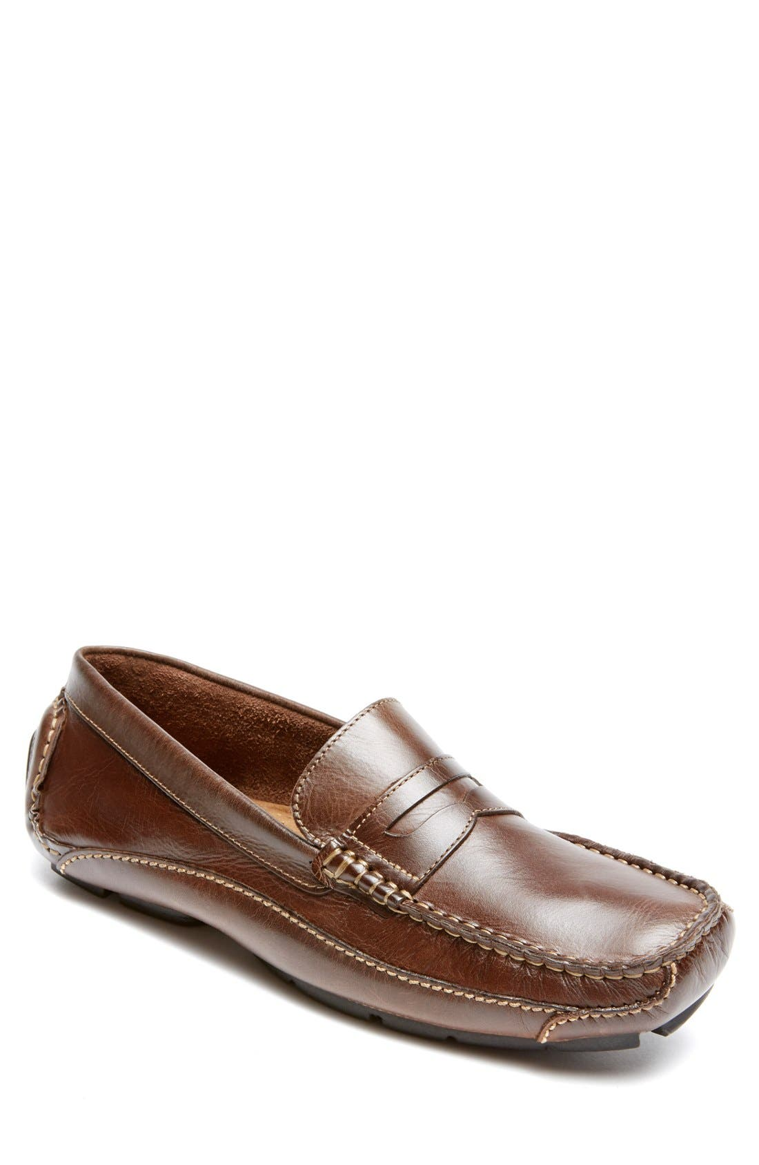 Luxury Cruise Penny Loafer, Main, color, 200