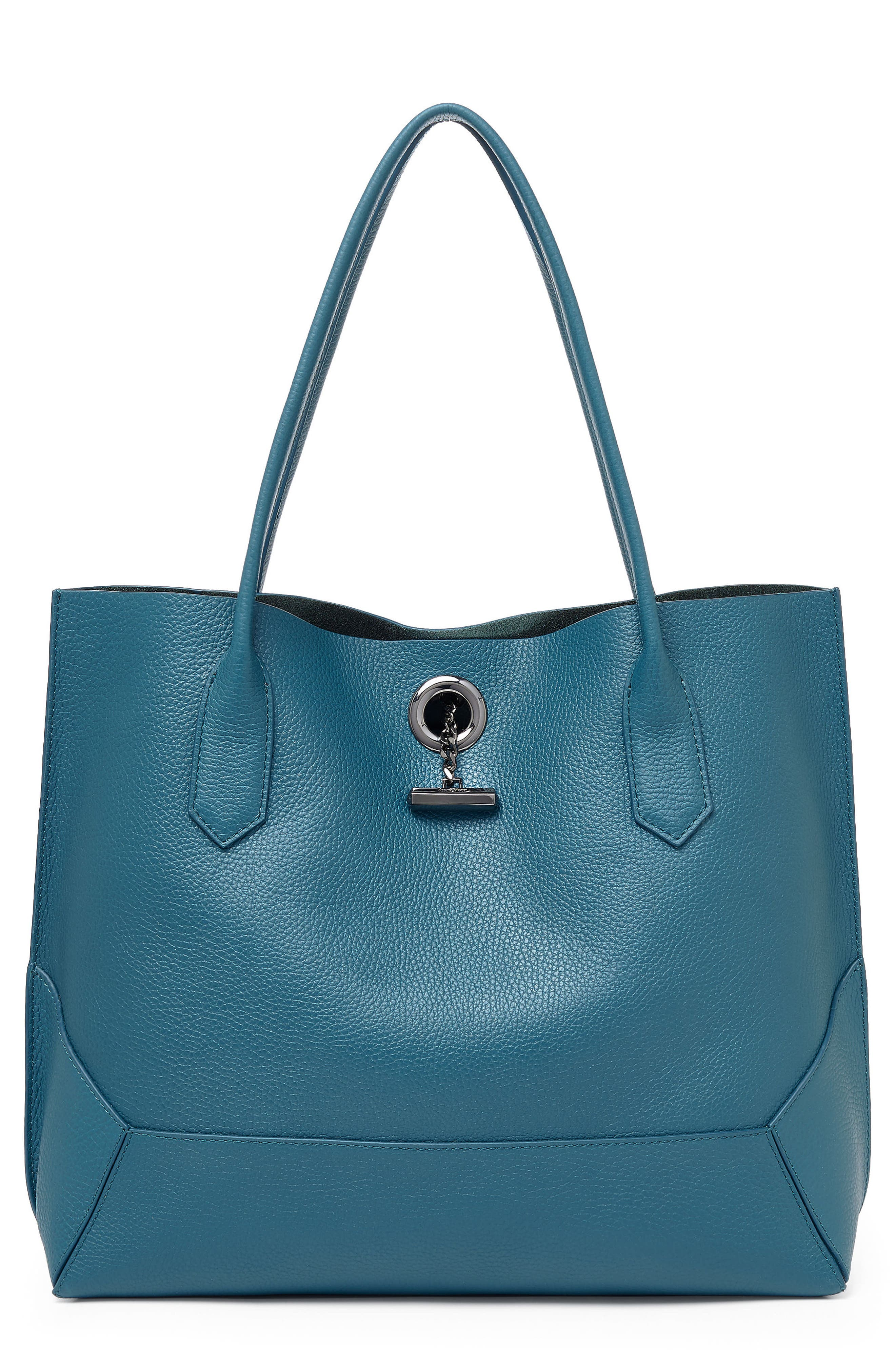 Waverly Leather Tote,                             Main thumbnail 6, color,
