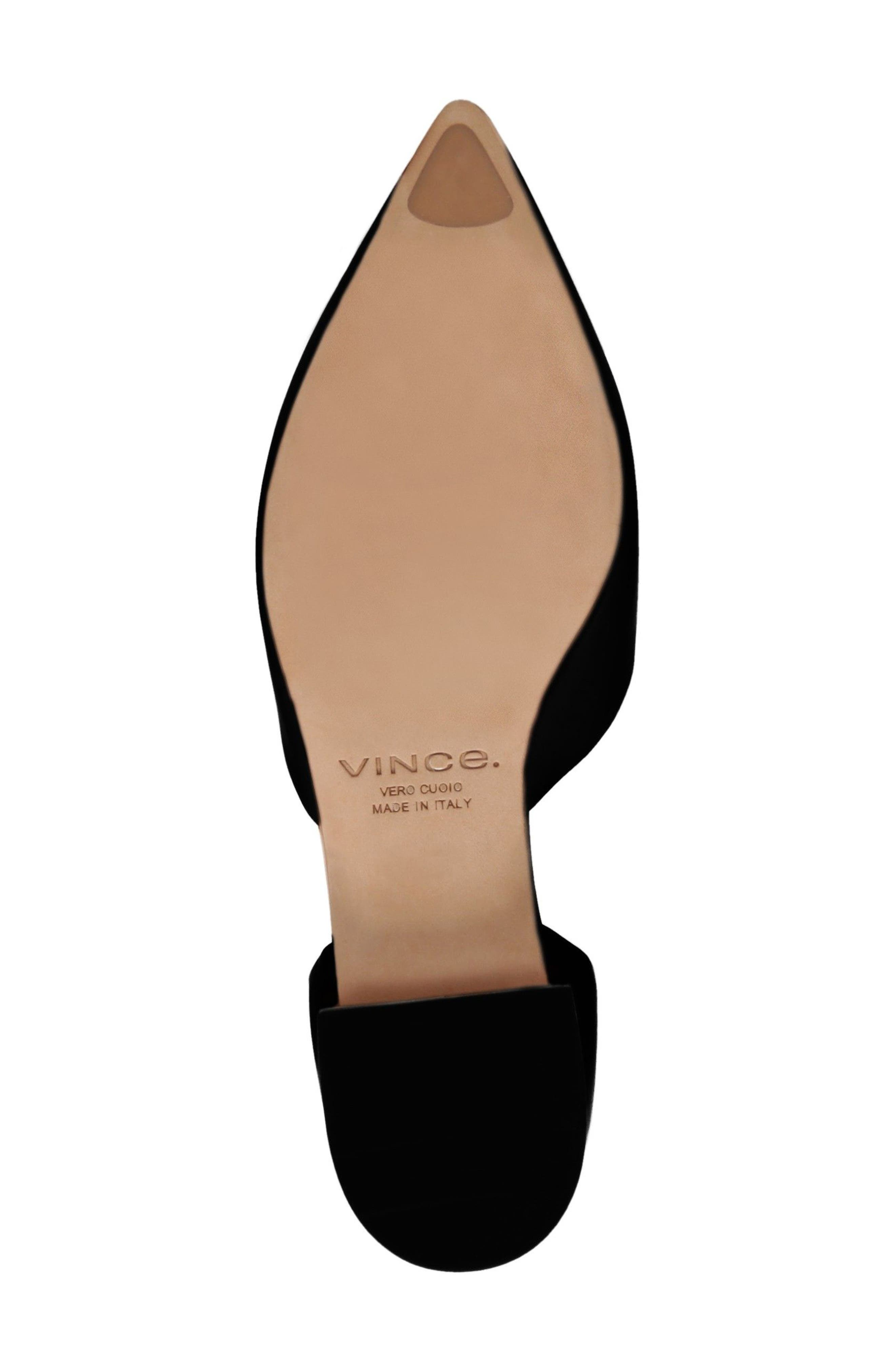 Damris d'Orsay Loafer,                             Alternate thumbnail 5, color,                             BLACK SIVIGLIA CALF