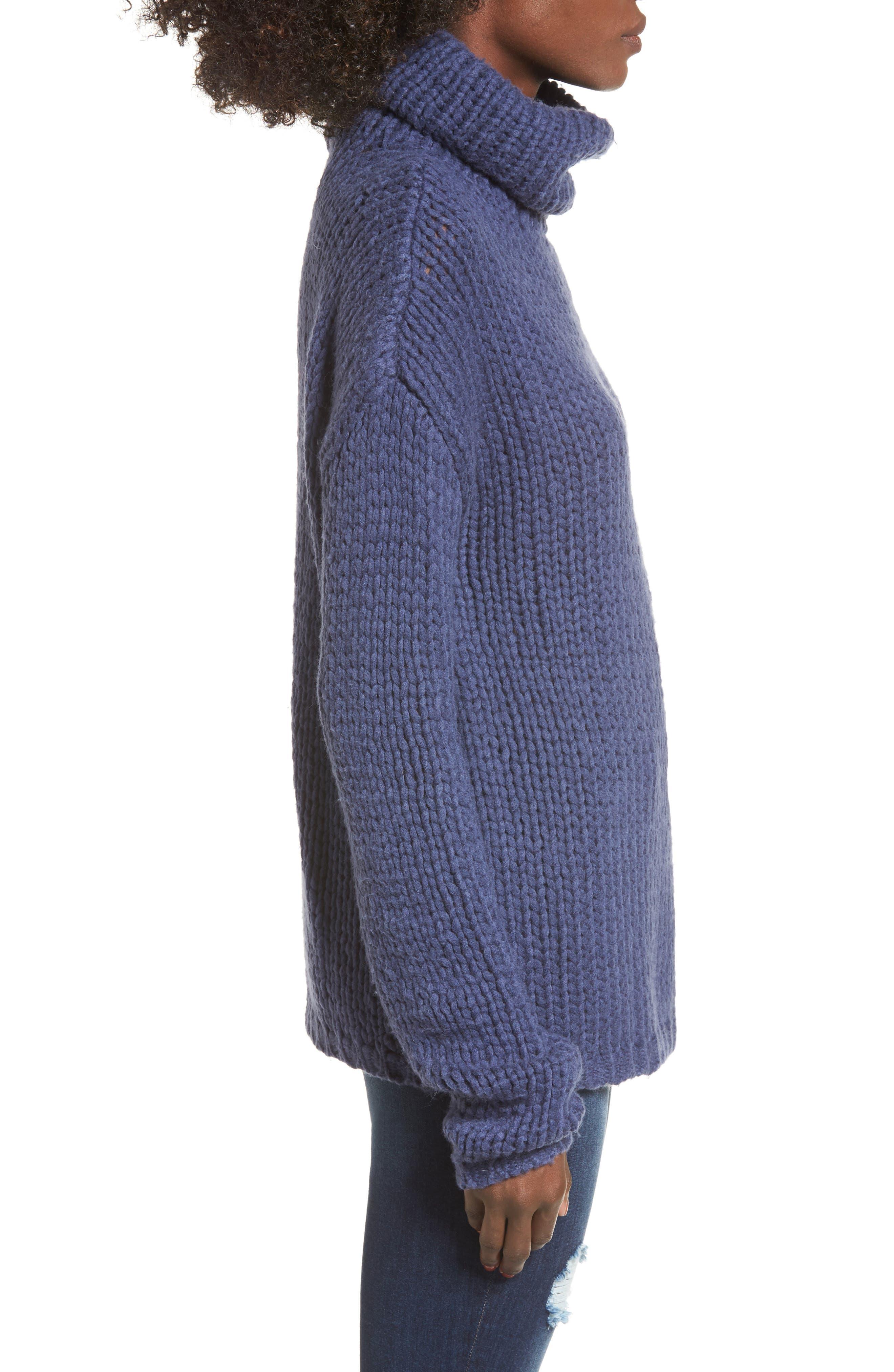 Hawken Turtleneck Sweater,                             Alternate thumbnail 3, color,                             400