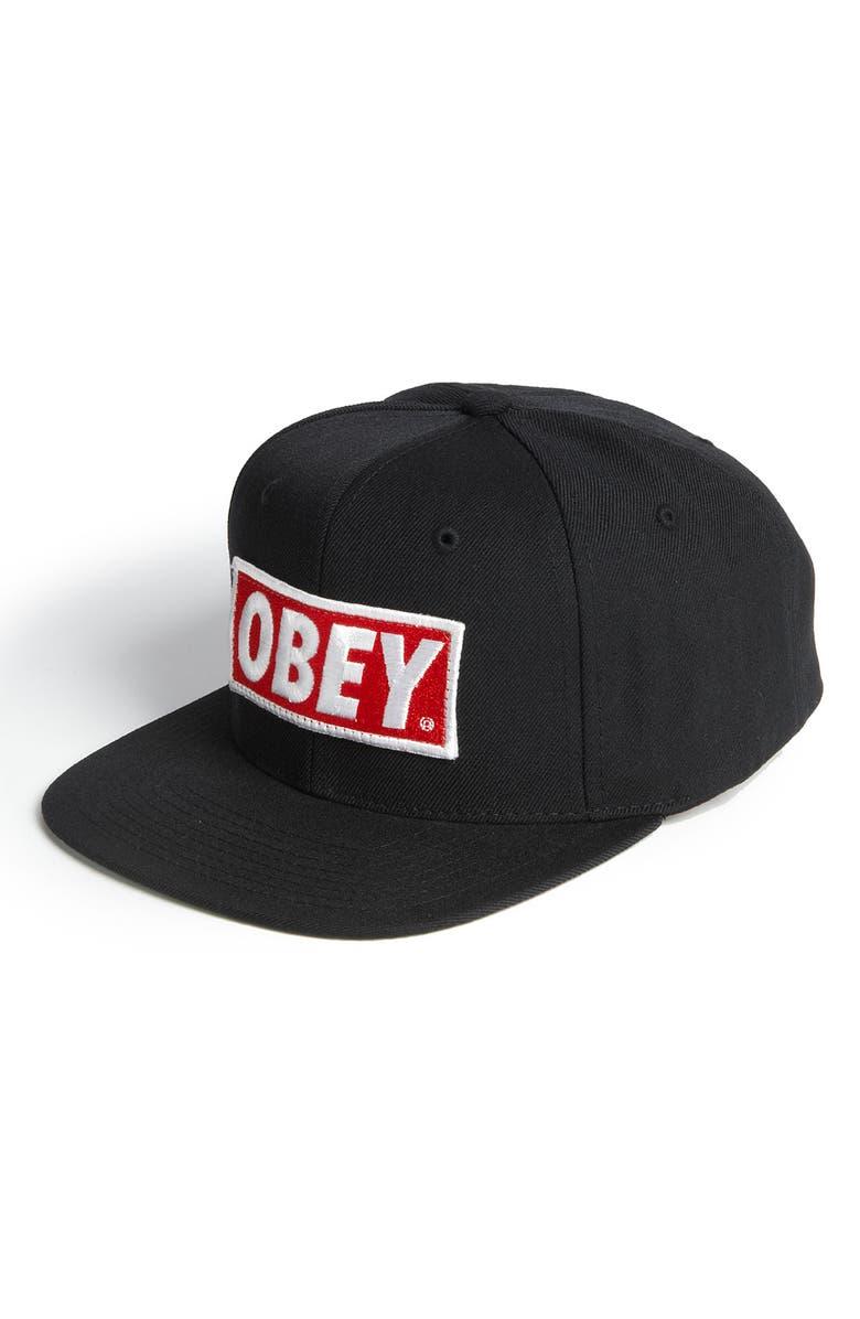 Obey  Original Snapback  Hat  3ac307bf7ee